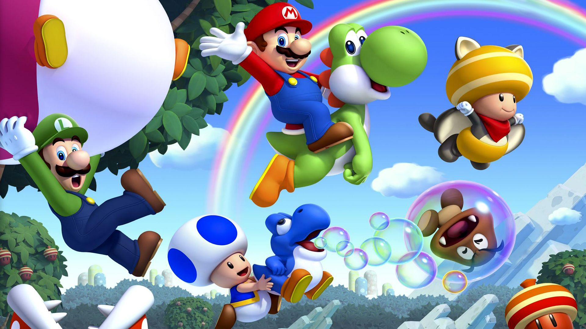 background fondo mario bros png