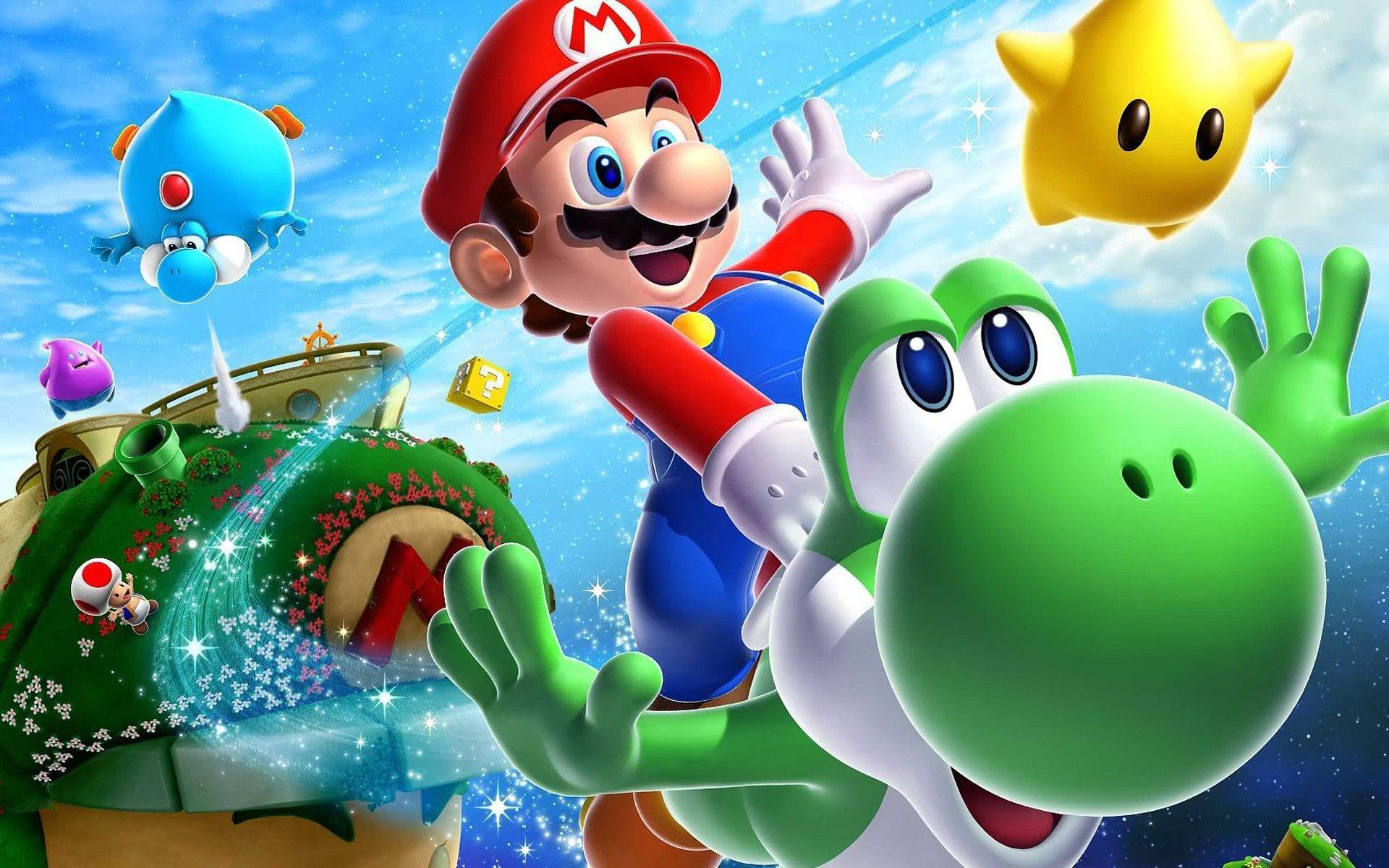Top Free Mario Backgrounds