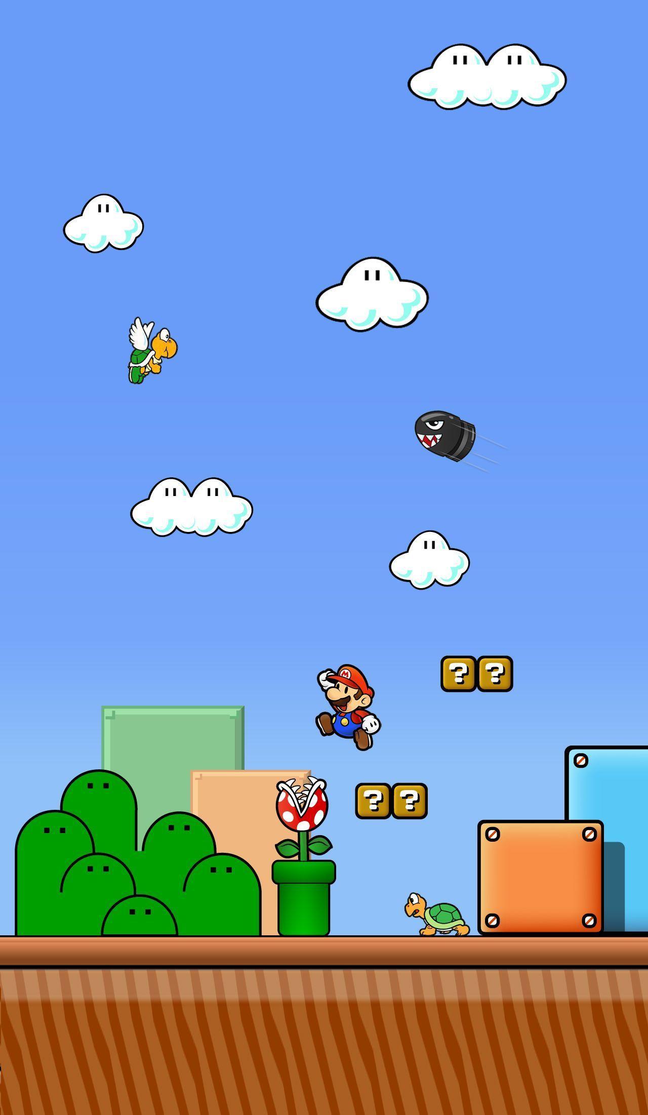 Super Mario iPhone Wallpapers - Top
