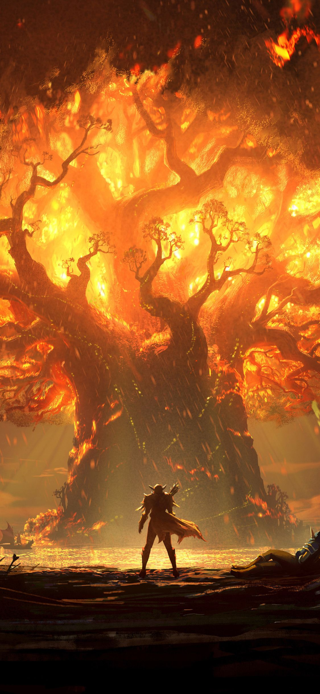 world of warcraft iphone x wallpaper