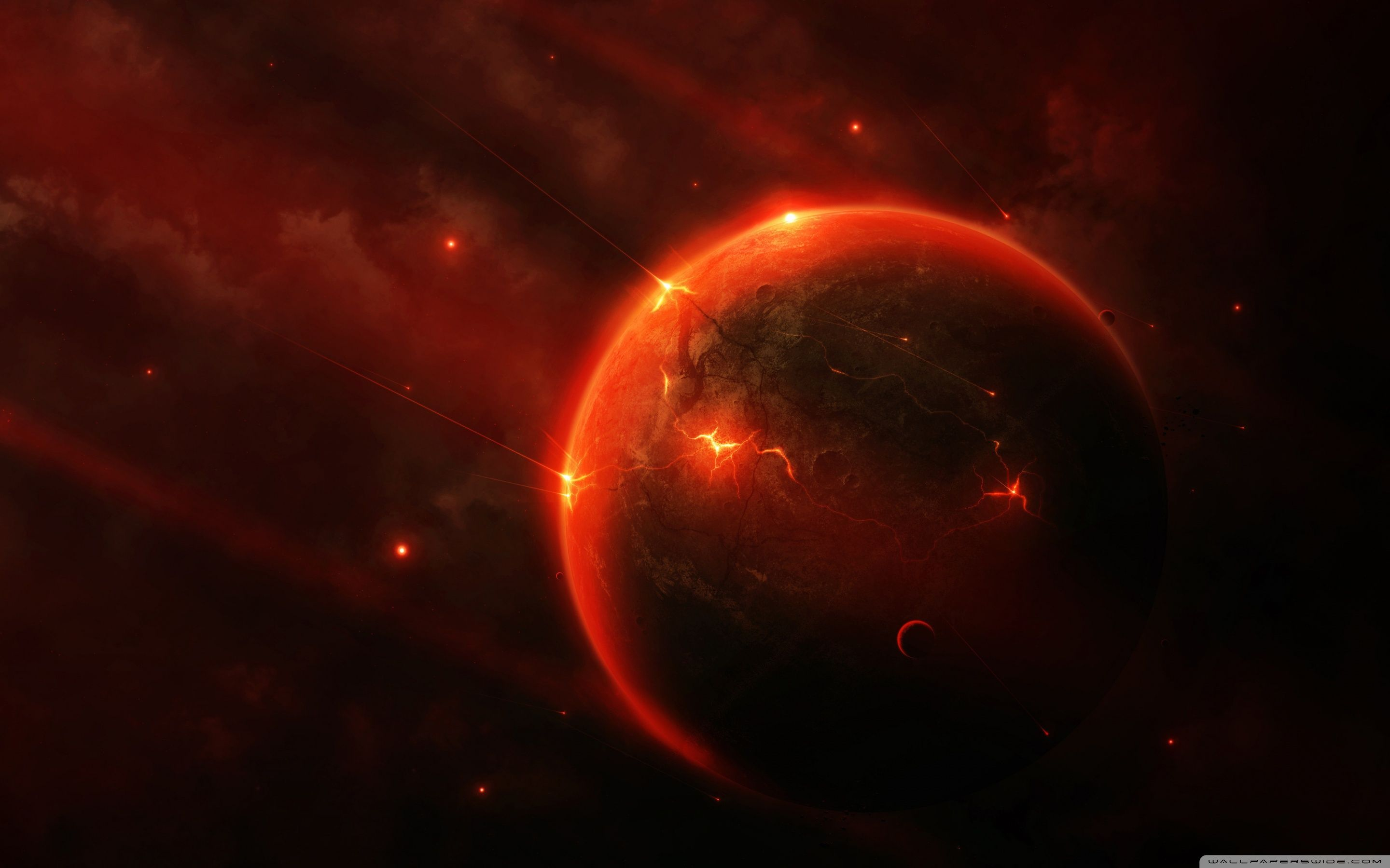 Red Planet Wallpapers Top Free Red Planet Backgrounds Wallpaperaccess