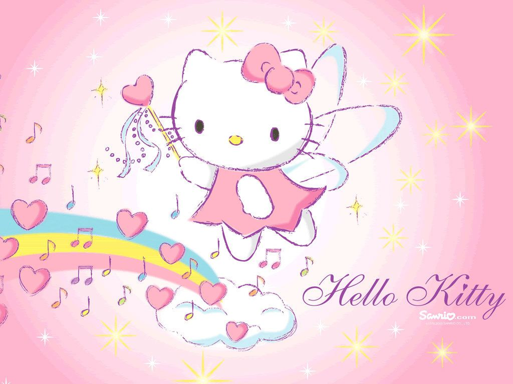 Hello Kitty Rainbow Wallpapers Top Free Hello Kitty