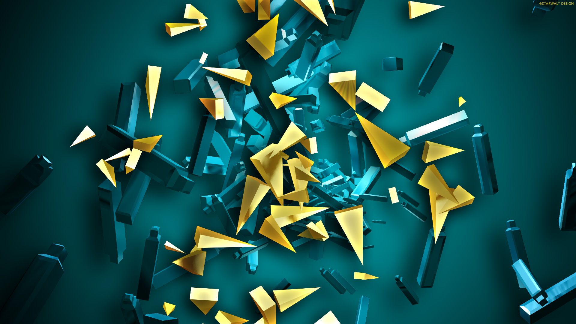 3D Abstract Desktop Wallpapers - Top Free 3D Abstract