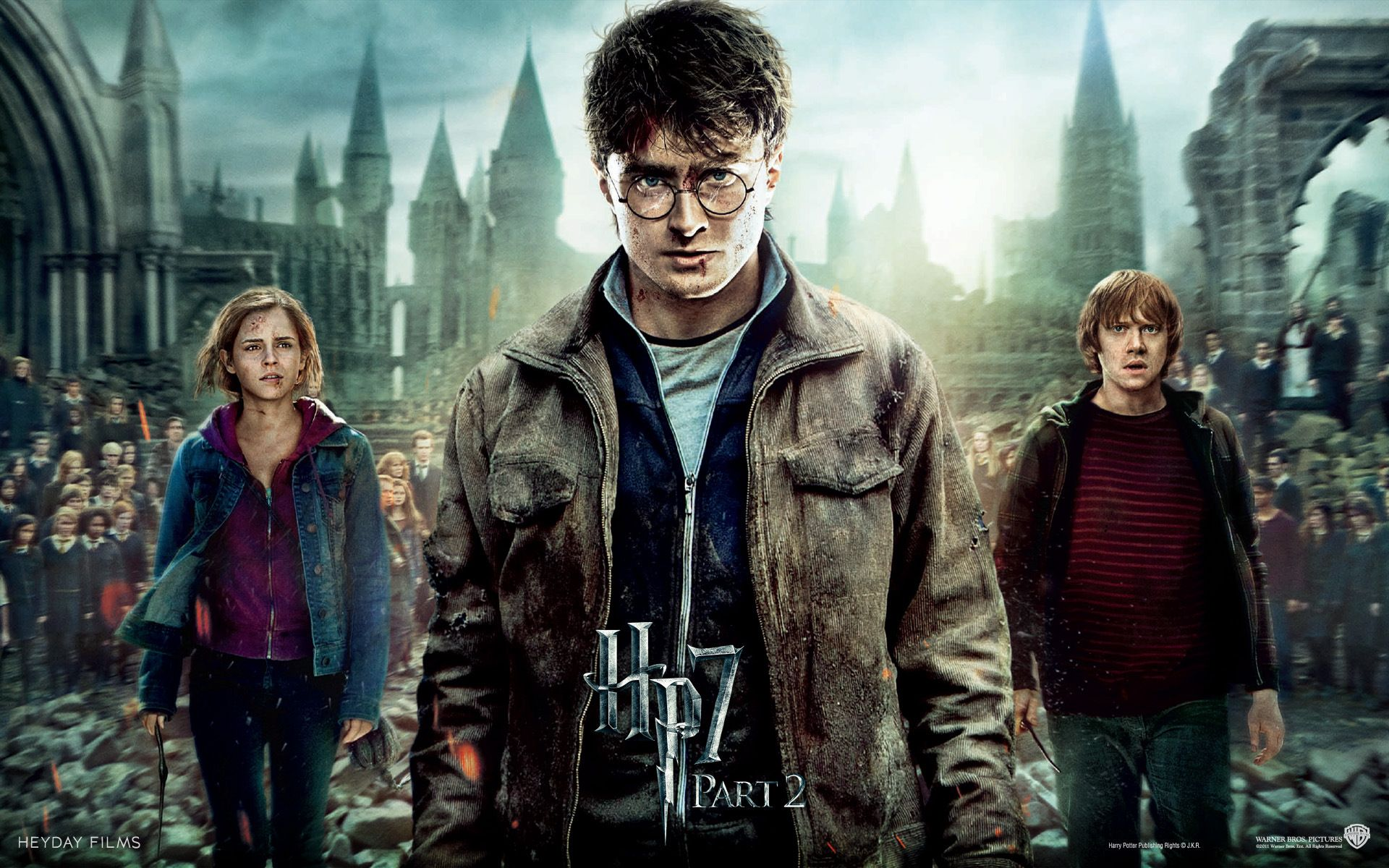 Harry Potter 7 Wallpapers - Top Free Harry Potter 7 Backgrounds -  WallpaperAccess
