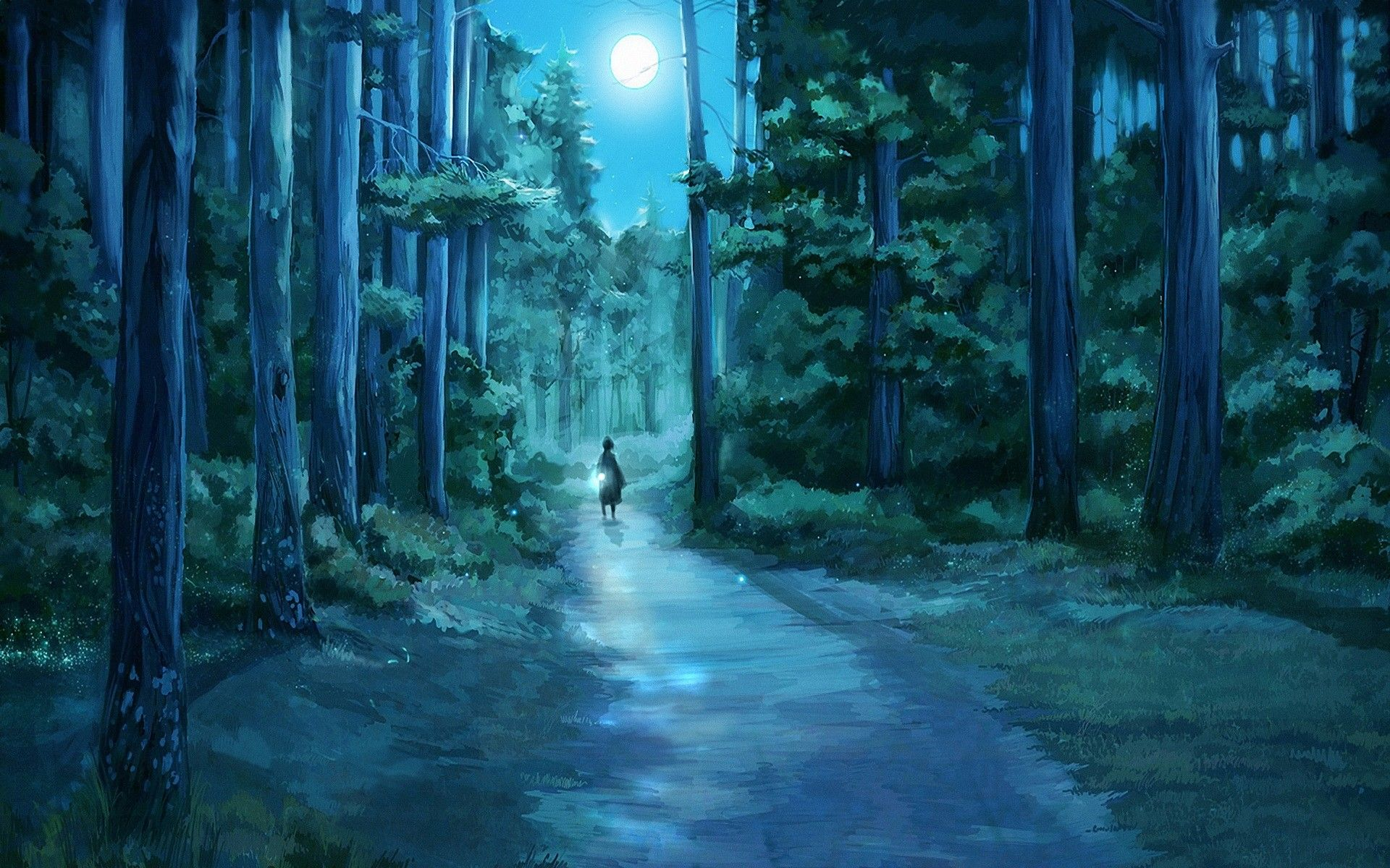 Anime Forest Wallpapers - Top Free Anime Forest ...