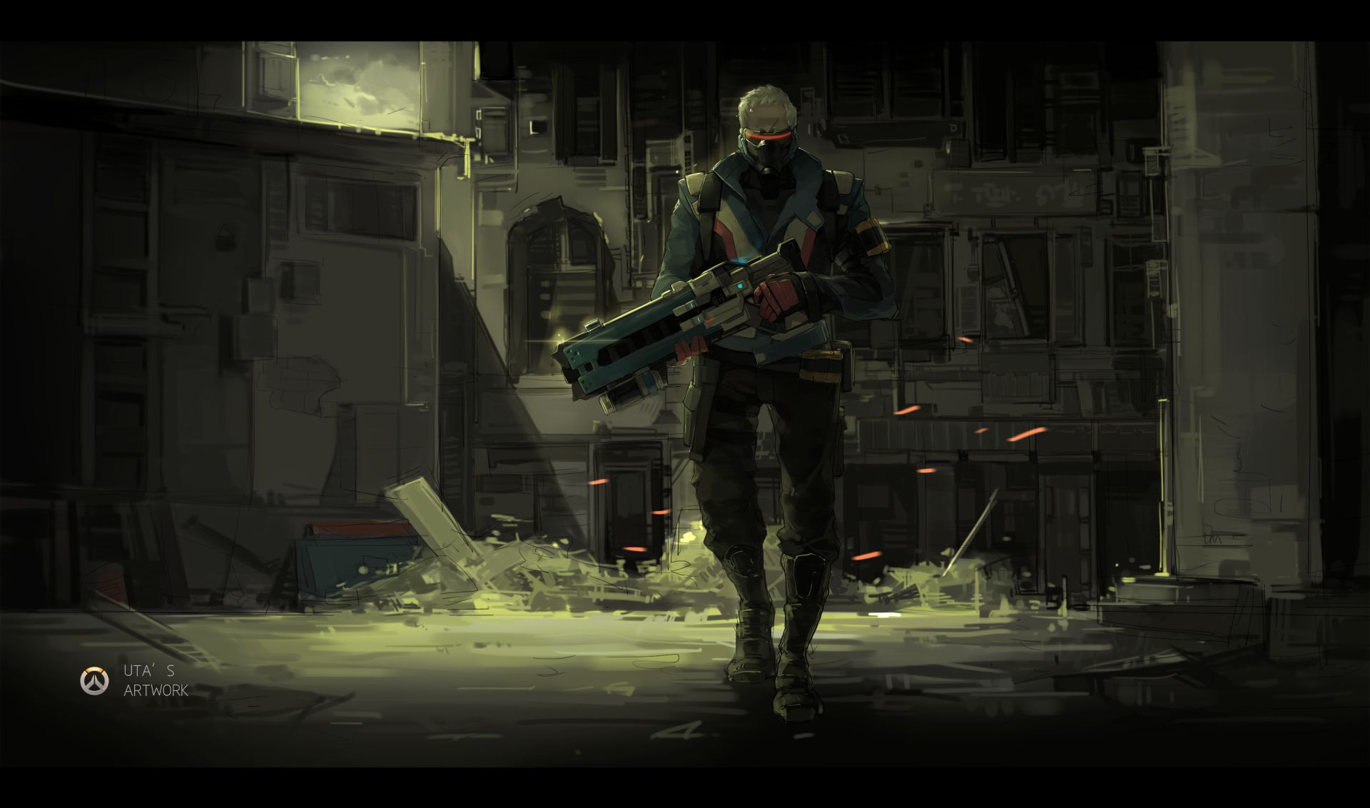 Soldier 76 Wallpapers - Top Free Soldier 76 Backgrounds