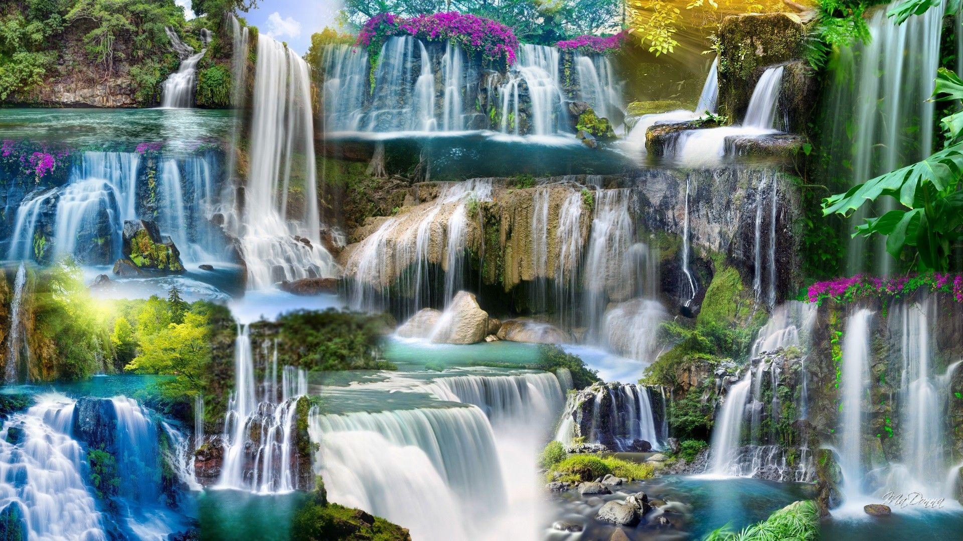 Zen Waterfall Wallpapers Top Free