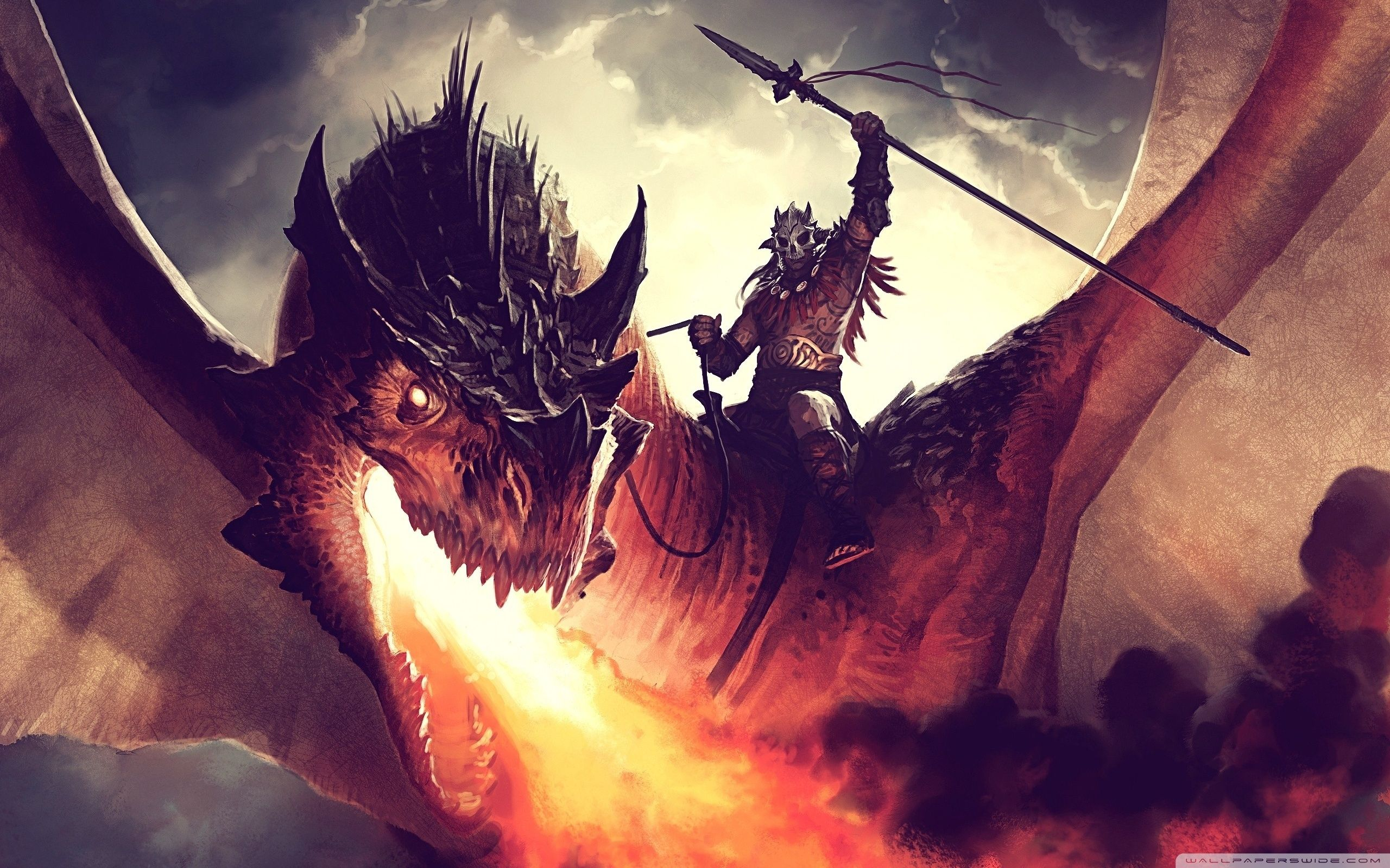 Fire And Ice Dragon Wallpapers Top Free Fire And Ice Dragon