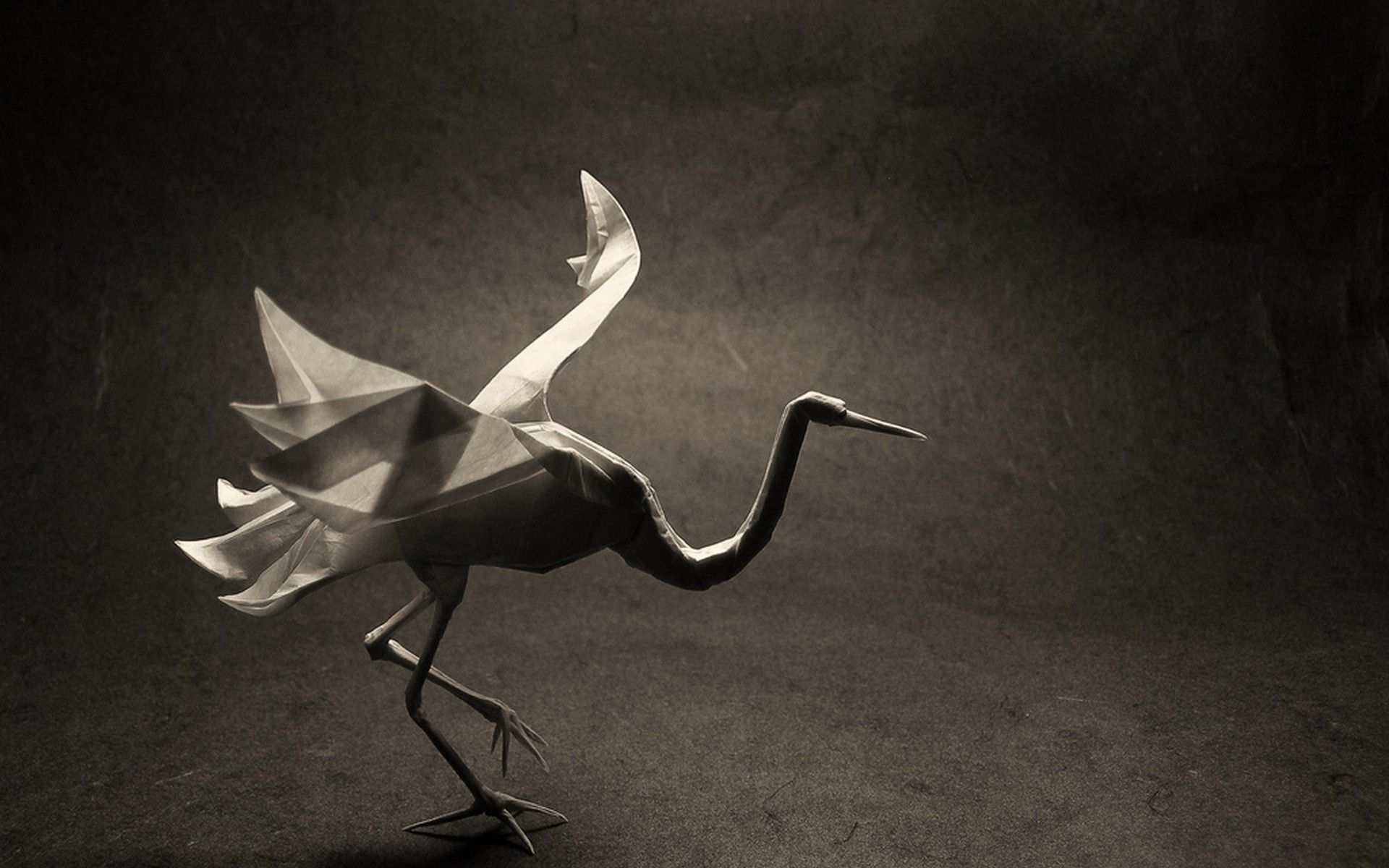 origami 3D - Red Crowned Crane - how to make - YouTube | 1200x1920