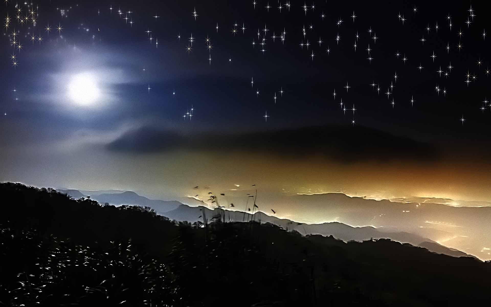 Starry Night Sky Wallpapers Top Free Starry Night Sky