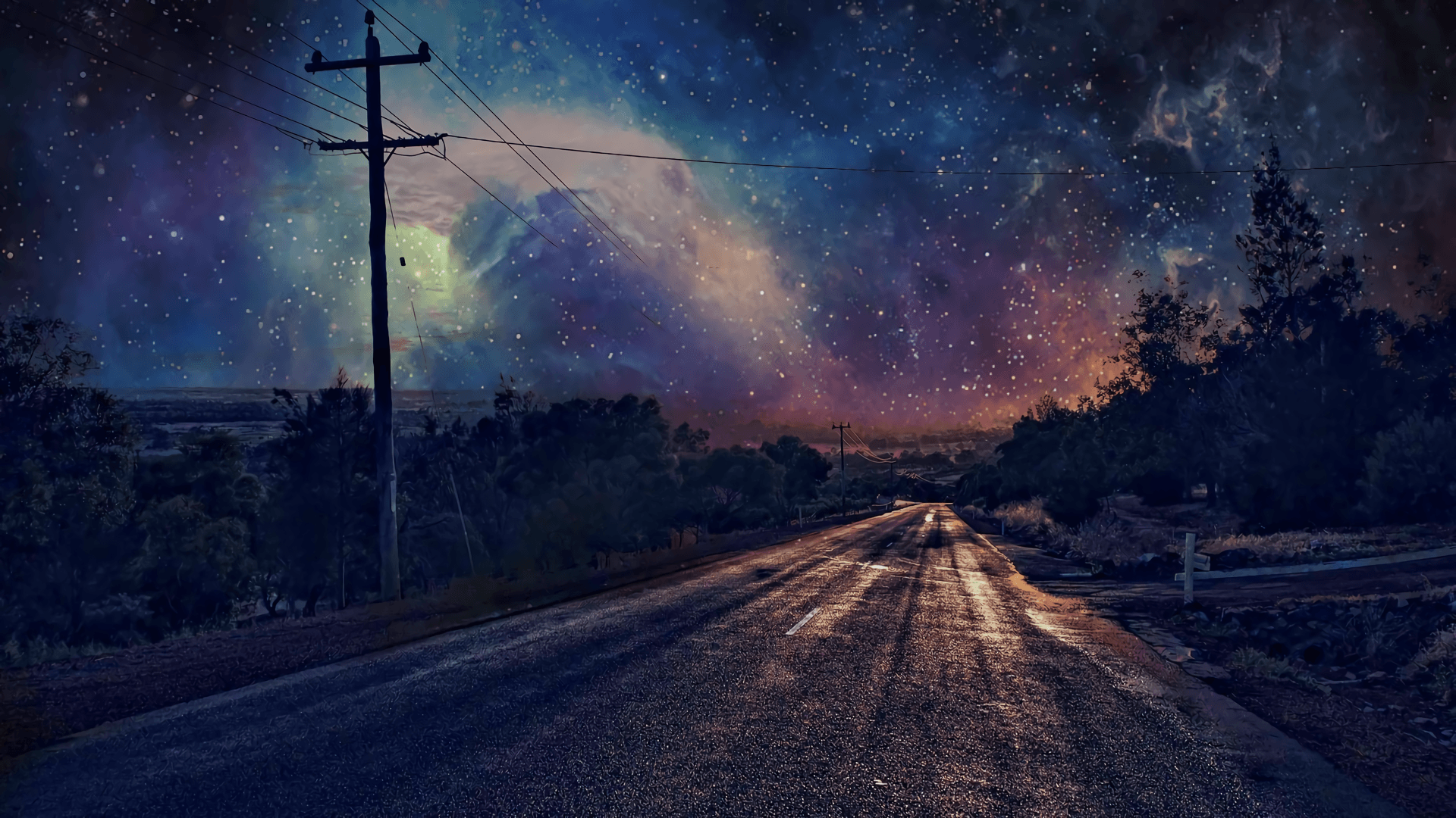 38 best free starry night sky wallpapers wallpaperaccess