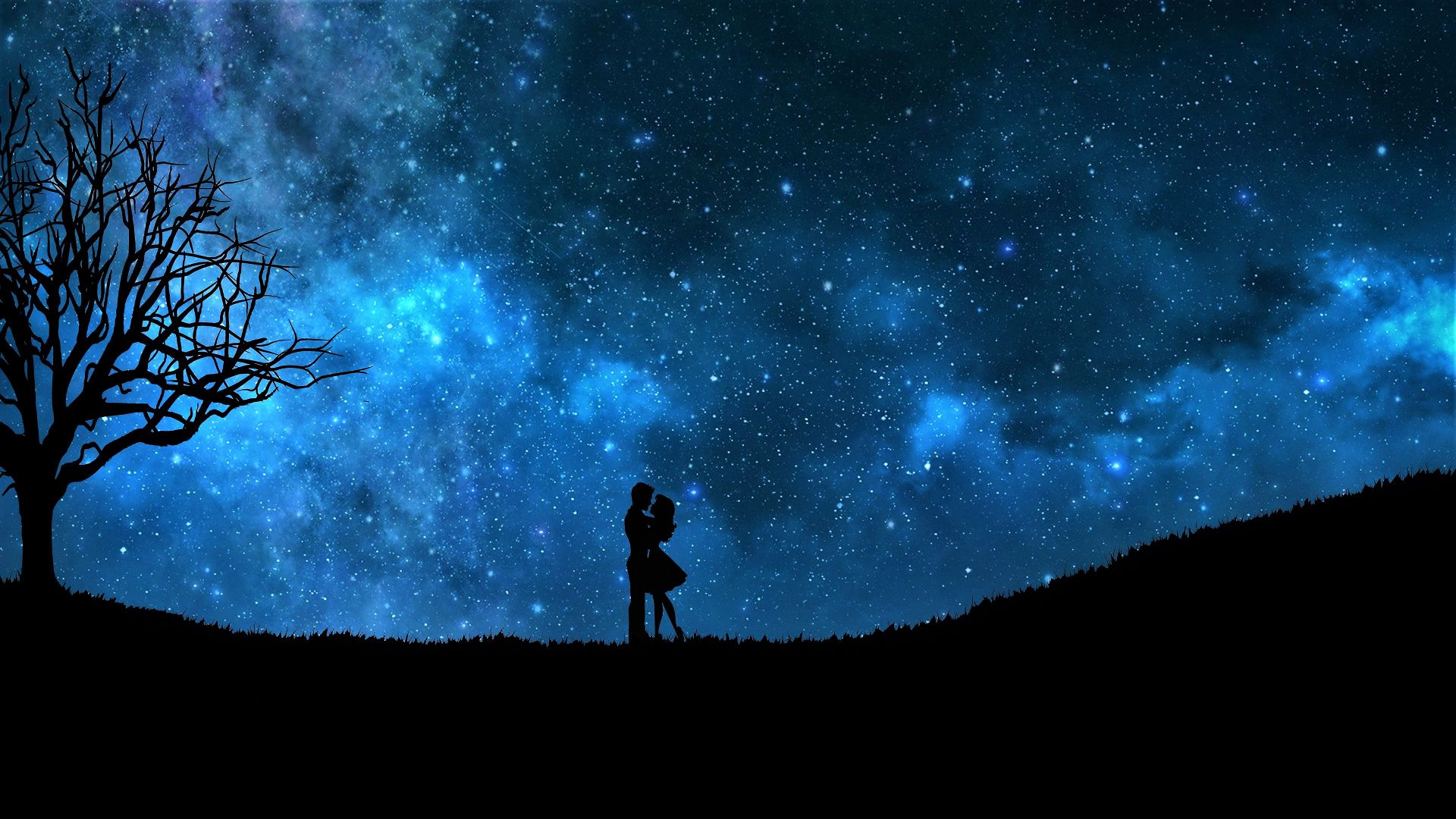 "1920x1200 Night Sky Stars Wallpapers"">"