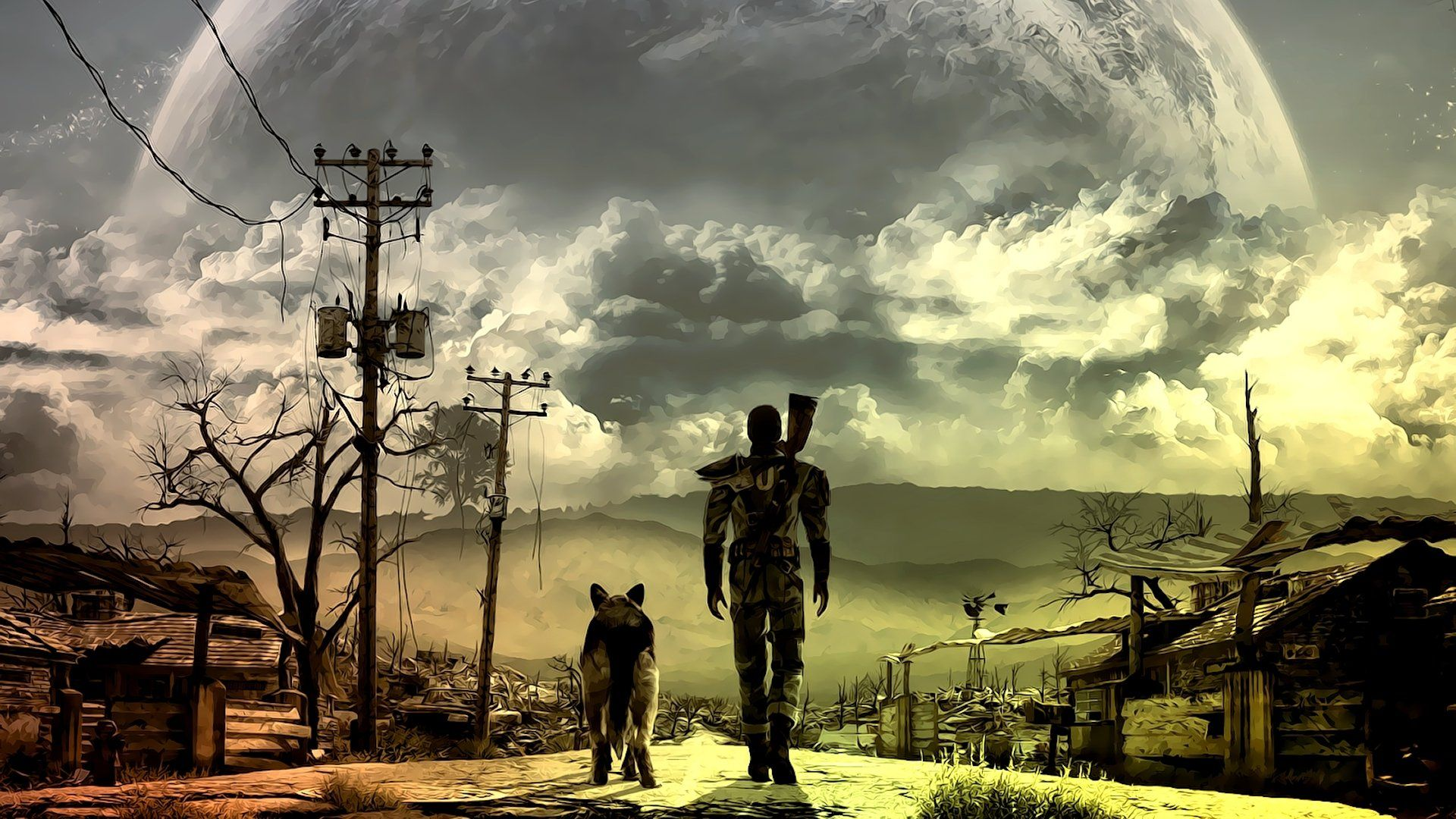 Fallout 3 Wallpapers Top Free Fallout 3 Backgrounds Wallpaperaccess