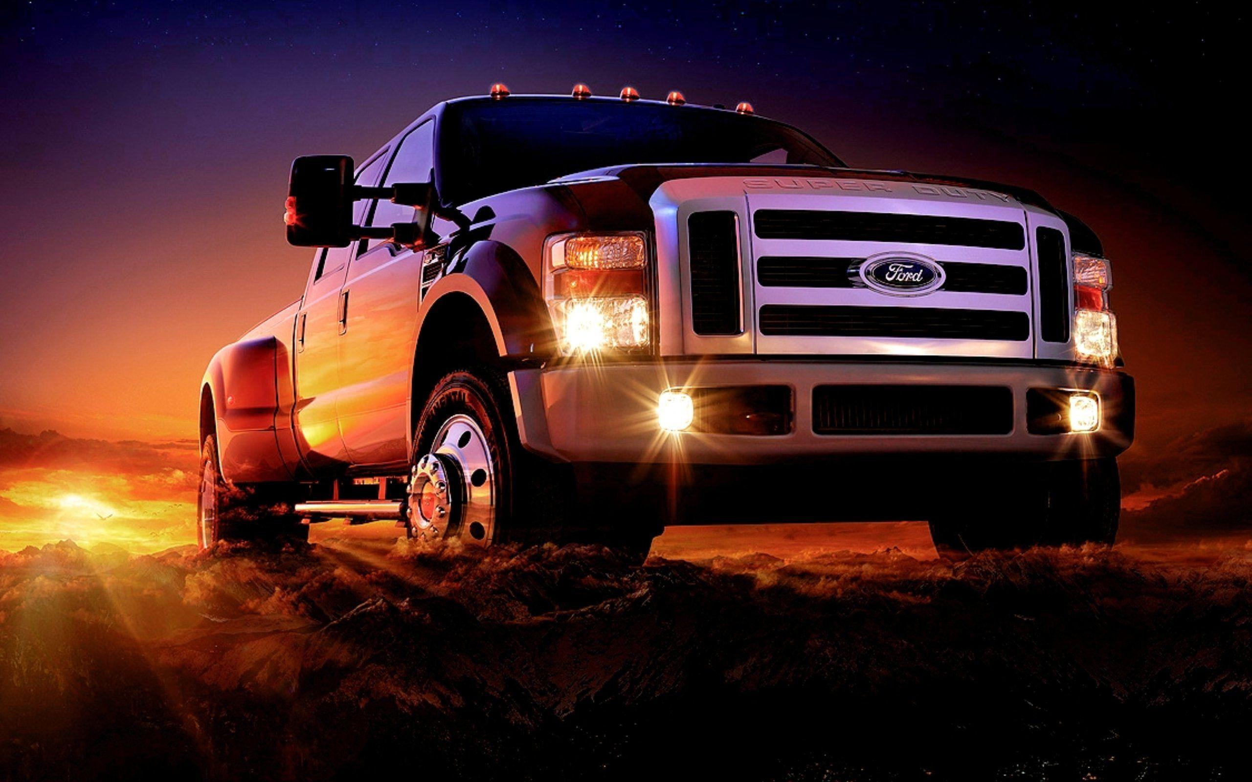 Ford Truck Wallpapers Top Free Ford Truck Backgrounds Wallpaperaccess