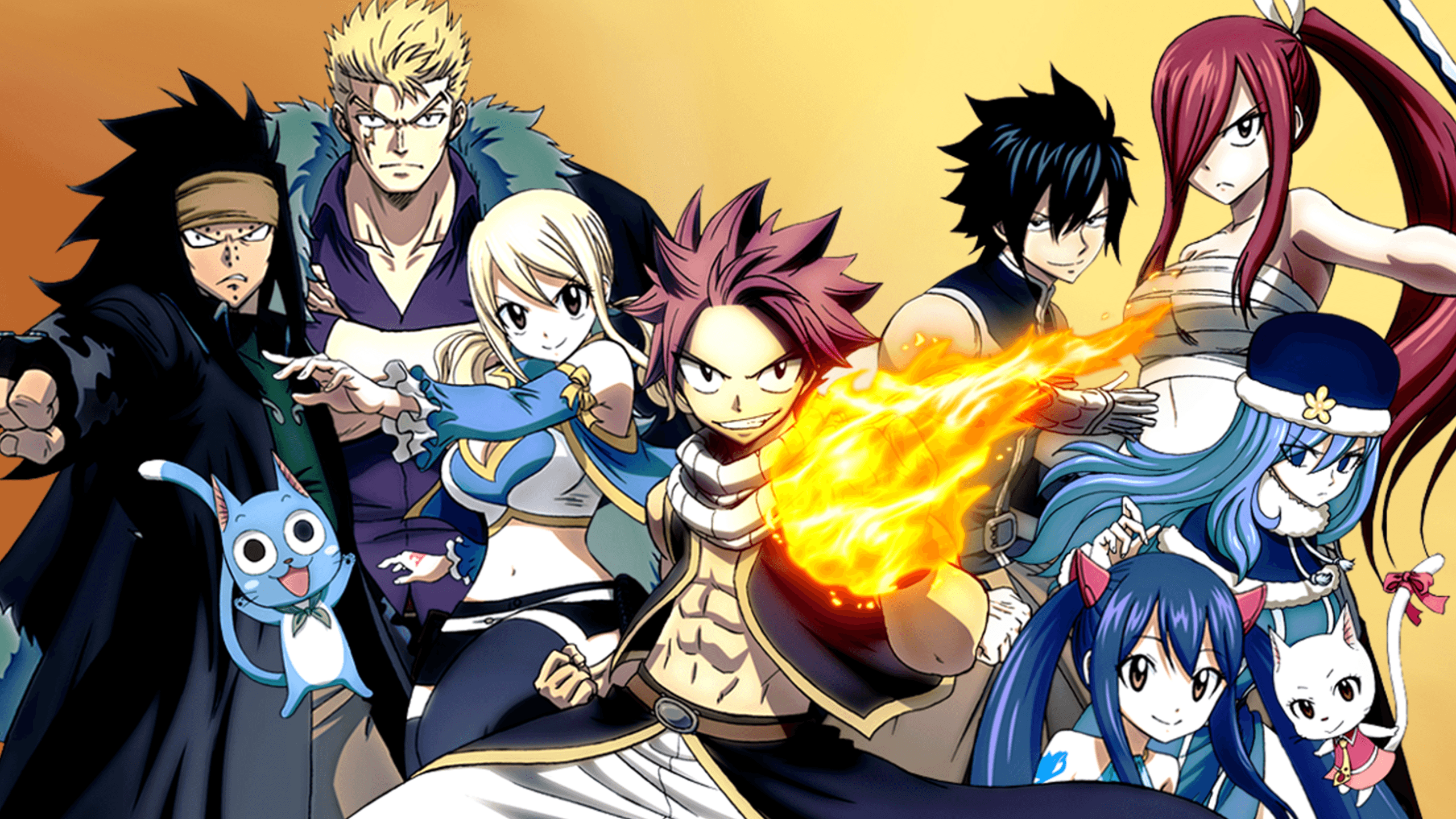 Fairy Tail Wallpapers Top Free Fairy Tail Backgrounds Wallpaperaccess