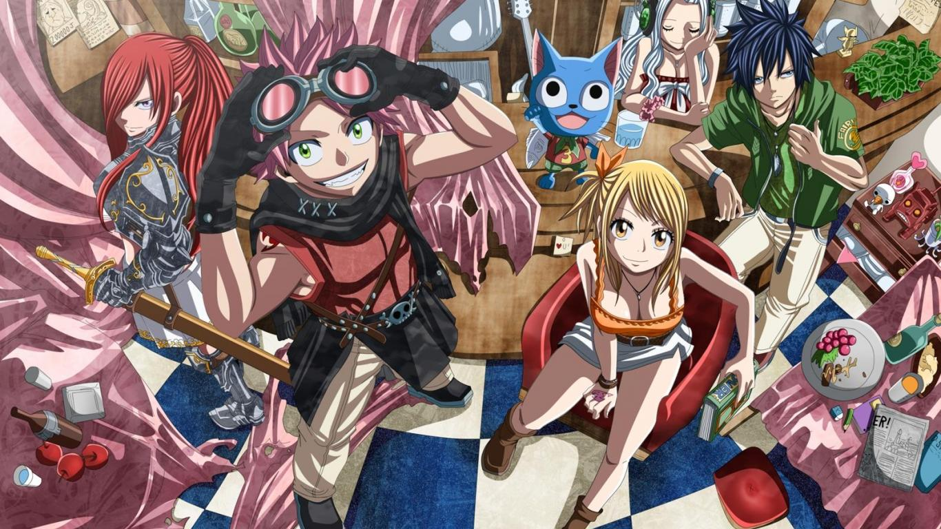 Fairy Tail Wallpapers Top Free Fairy Tail Backgrounds
