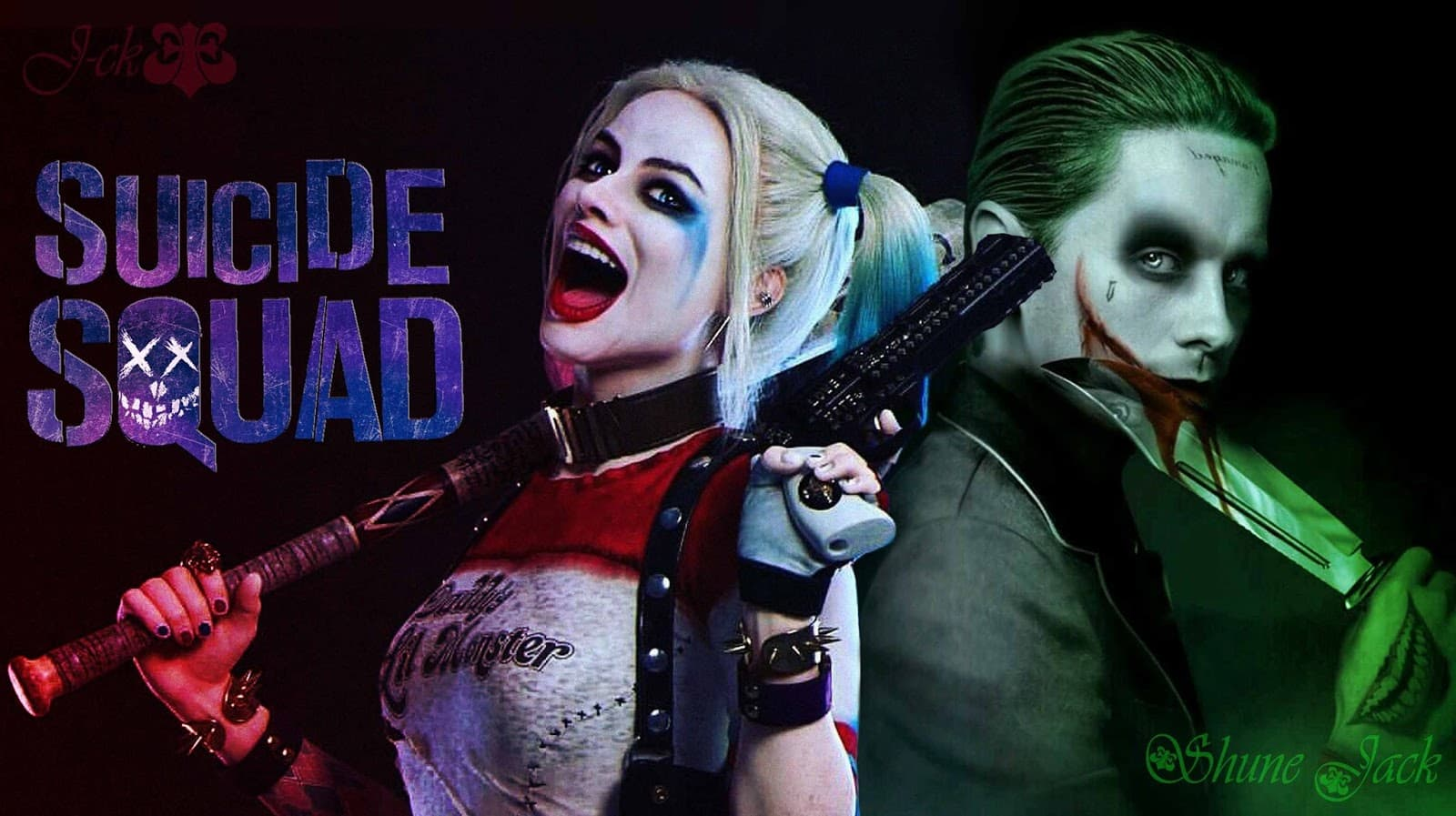 Art Harley Quinn Suicide Squad Wallpapers Top Free Art Harley