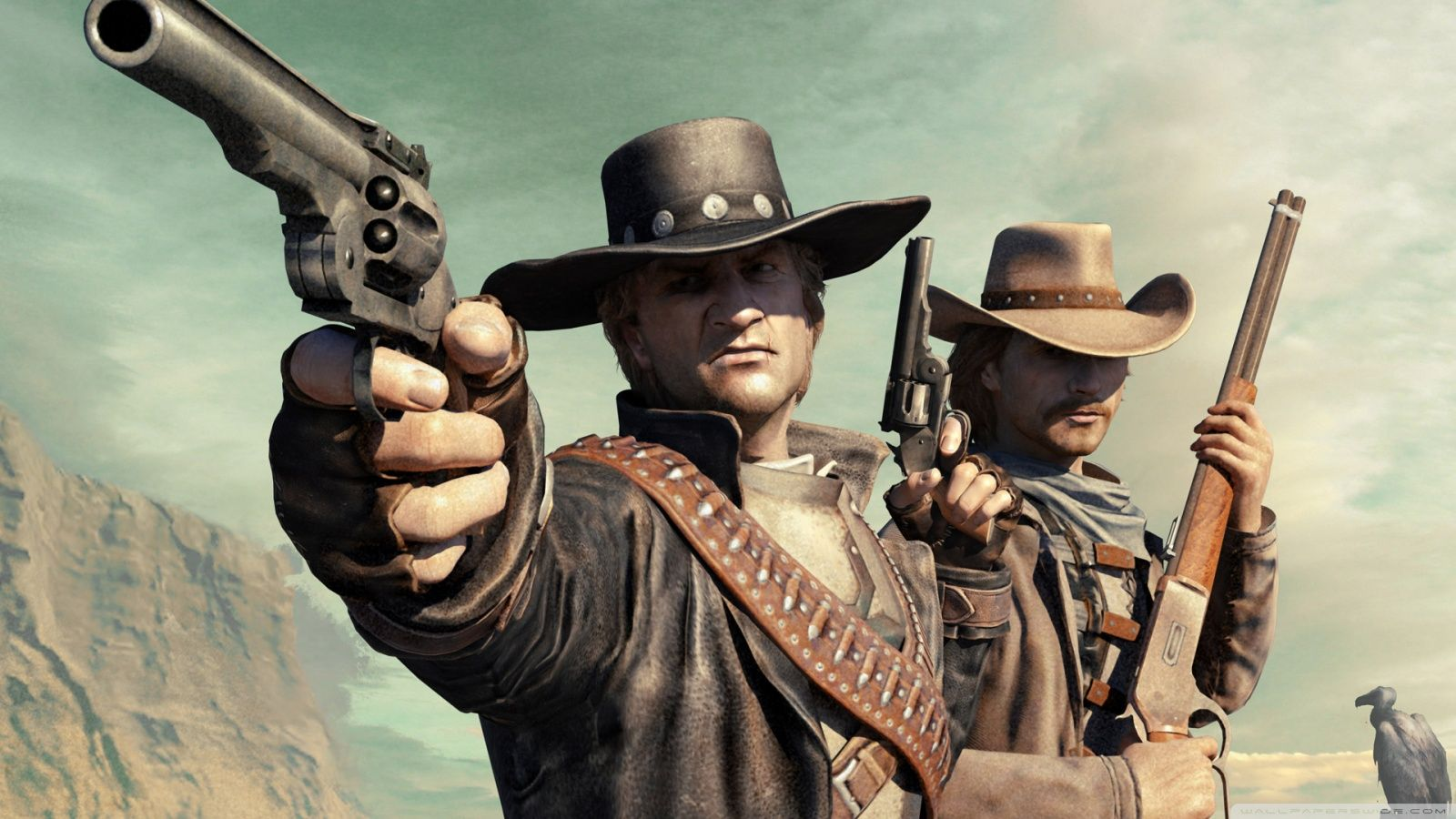 Outlaw gunslingers wallpapers top free outlaw gunslingers backgrounds wallpaperaccess - Gunfighter wallpaper ...