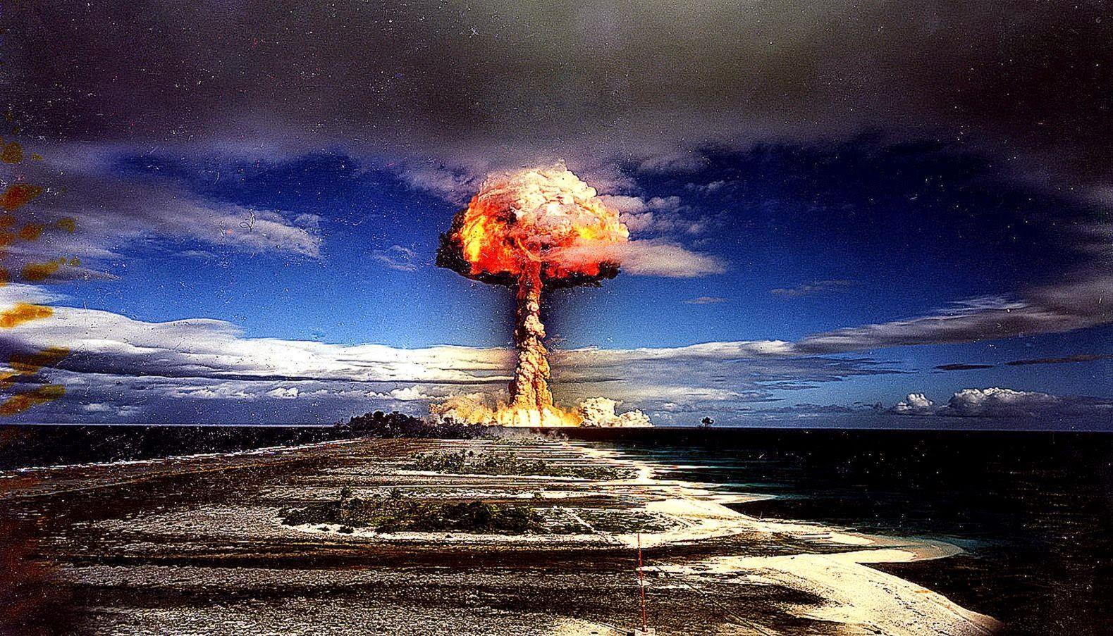 1280x720 Nuke Explosion Wallpaper
