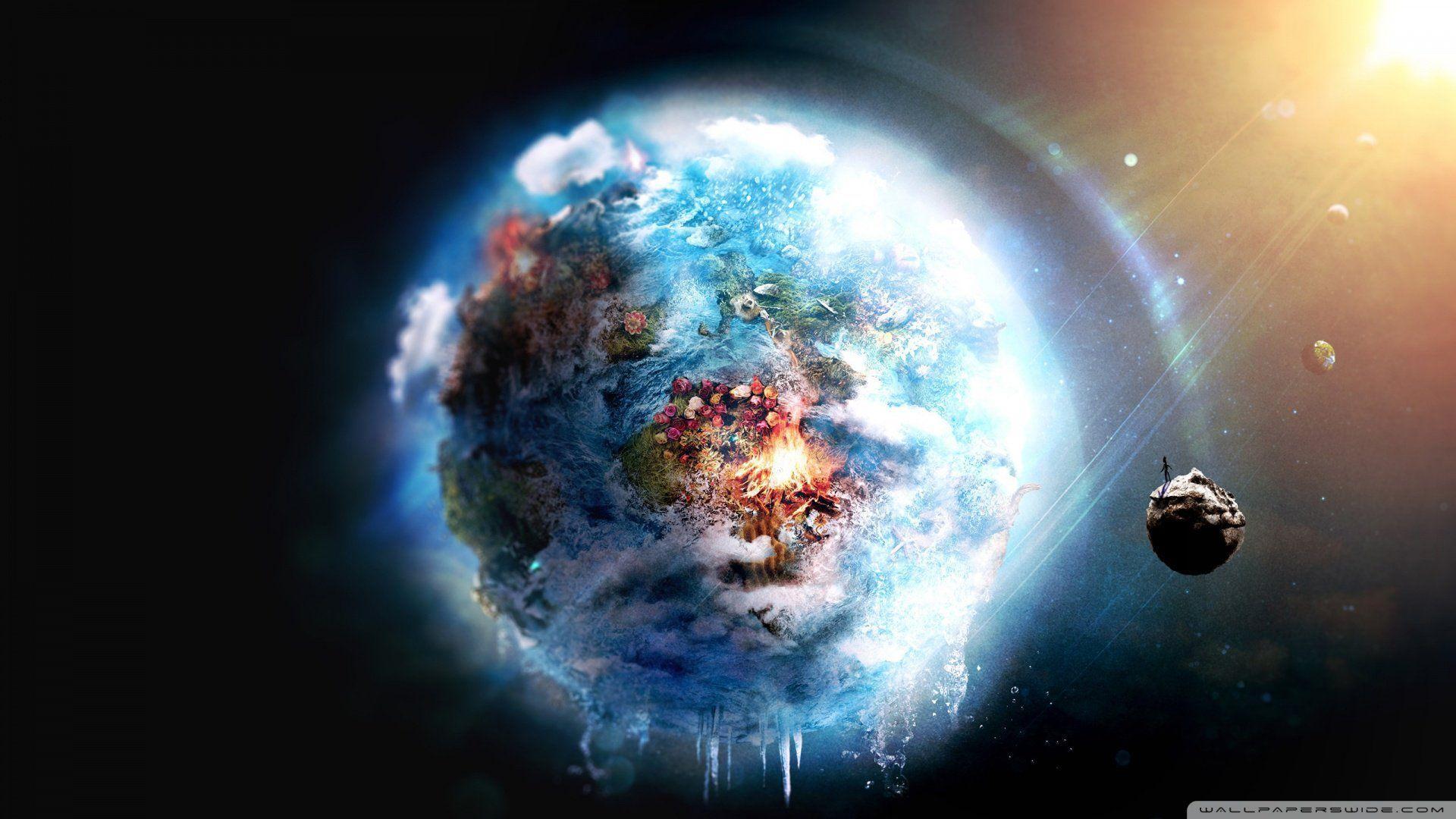 1920x1080 الأرض المستقبلية [خلفية]