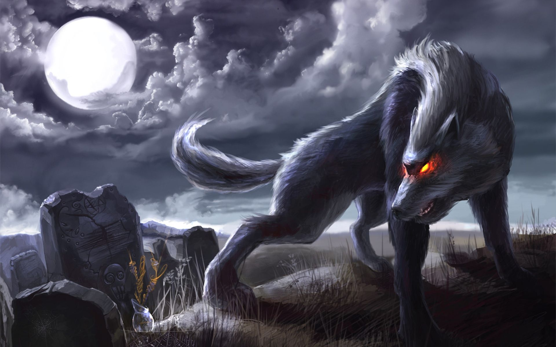 Anime Wolves Wallpapers - Top Free Anime Wolves ...