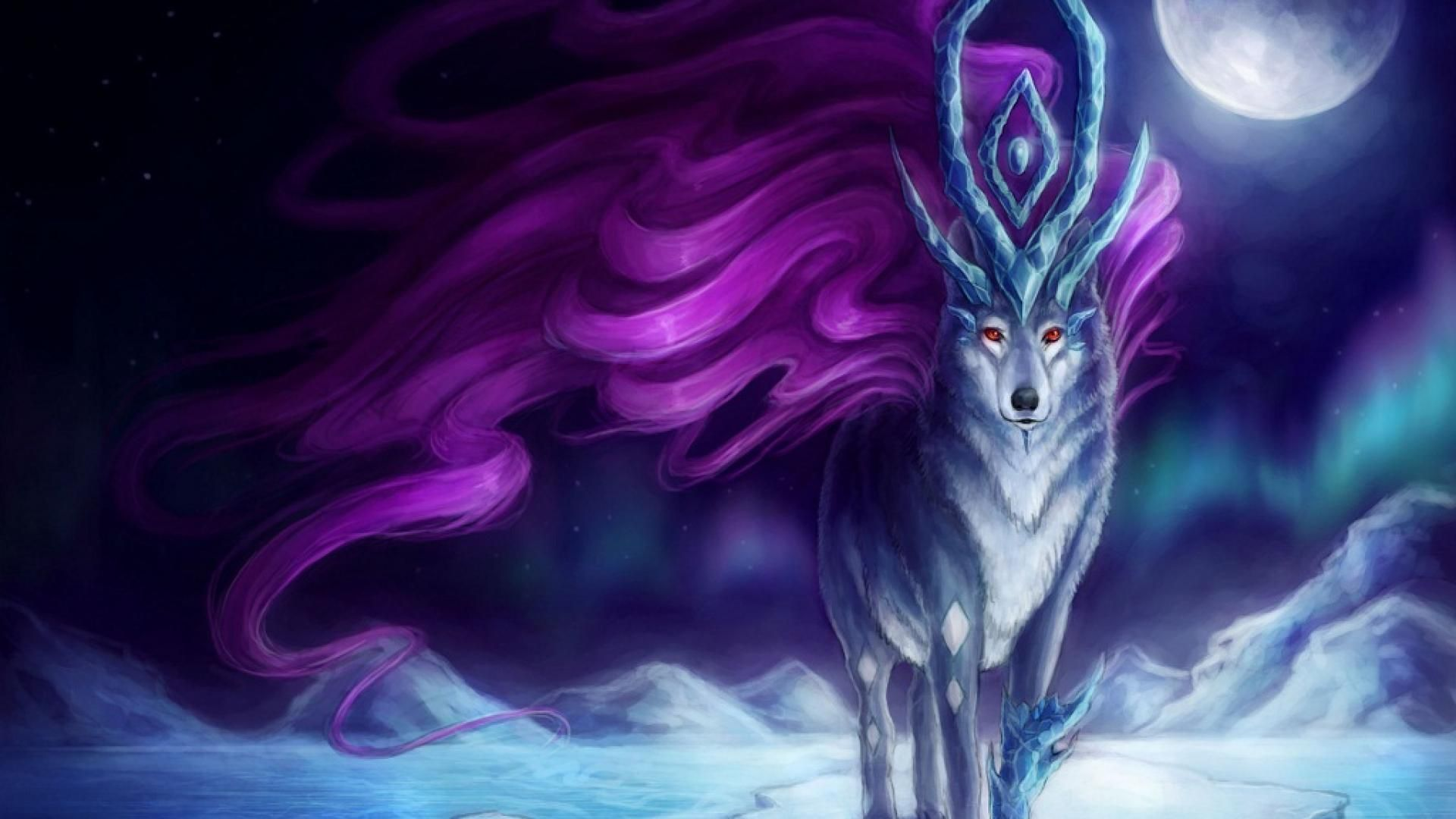 Mythical Wolf Wallpapers Top Free Mythical Wolf Backgrounds Wallpaperaccess