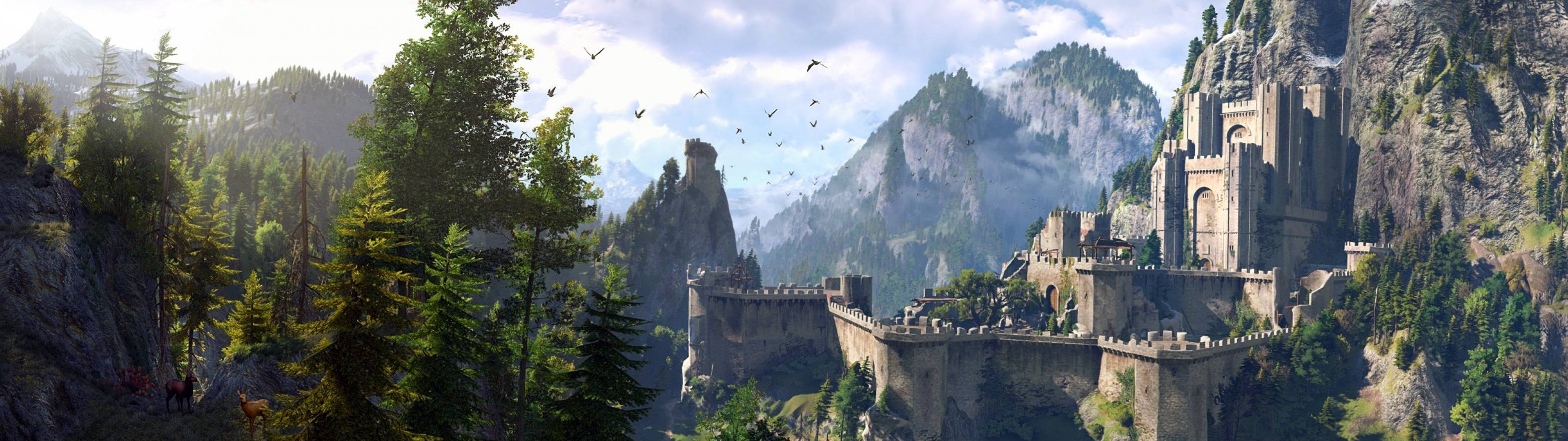 3840 X 1080 Castle Wallpapers Top Free 3840 X 1080 Castle