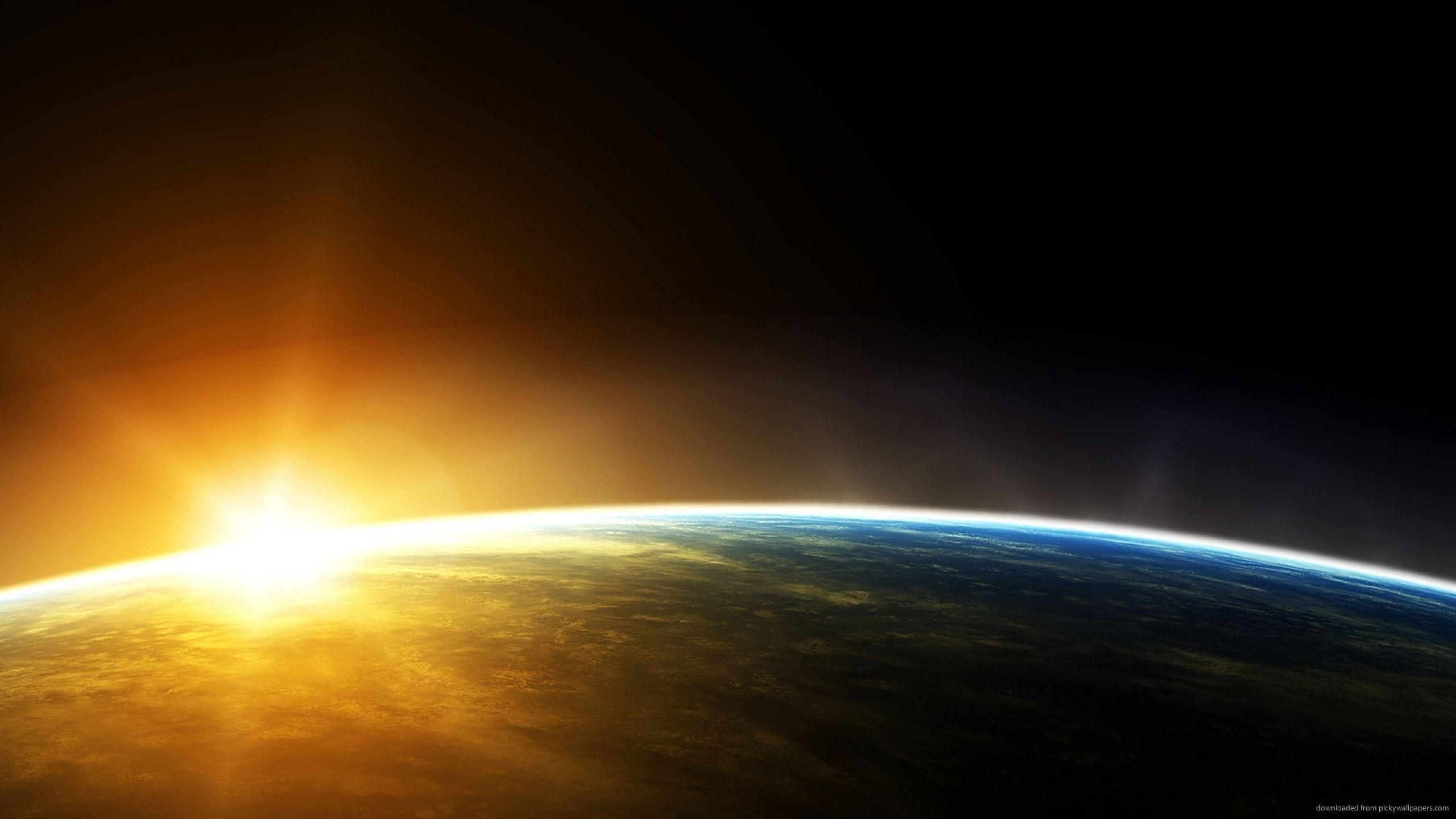 Hình nền mặt trời mọc 2560x1440.  Hình nền HD