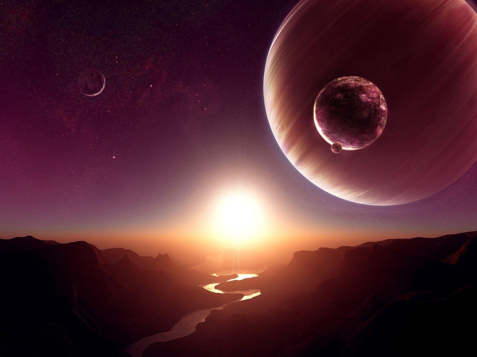 Hình nền mặt trời mọc 1600x1200