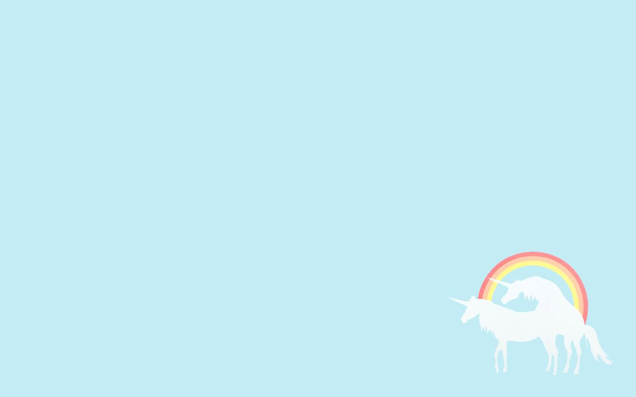 Sfondi pc unicorni