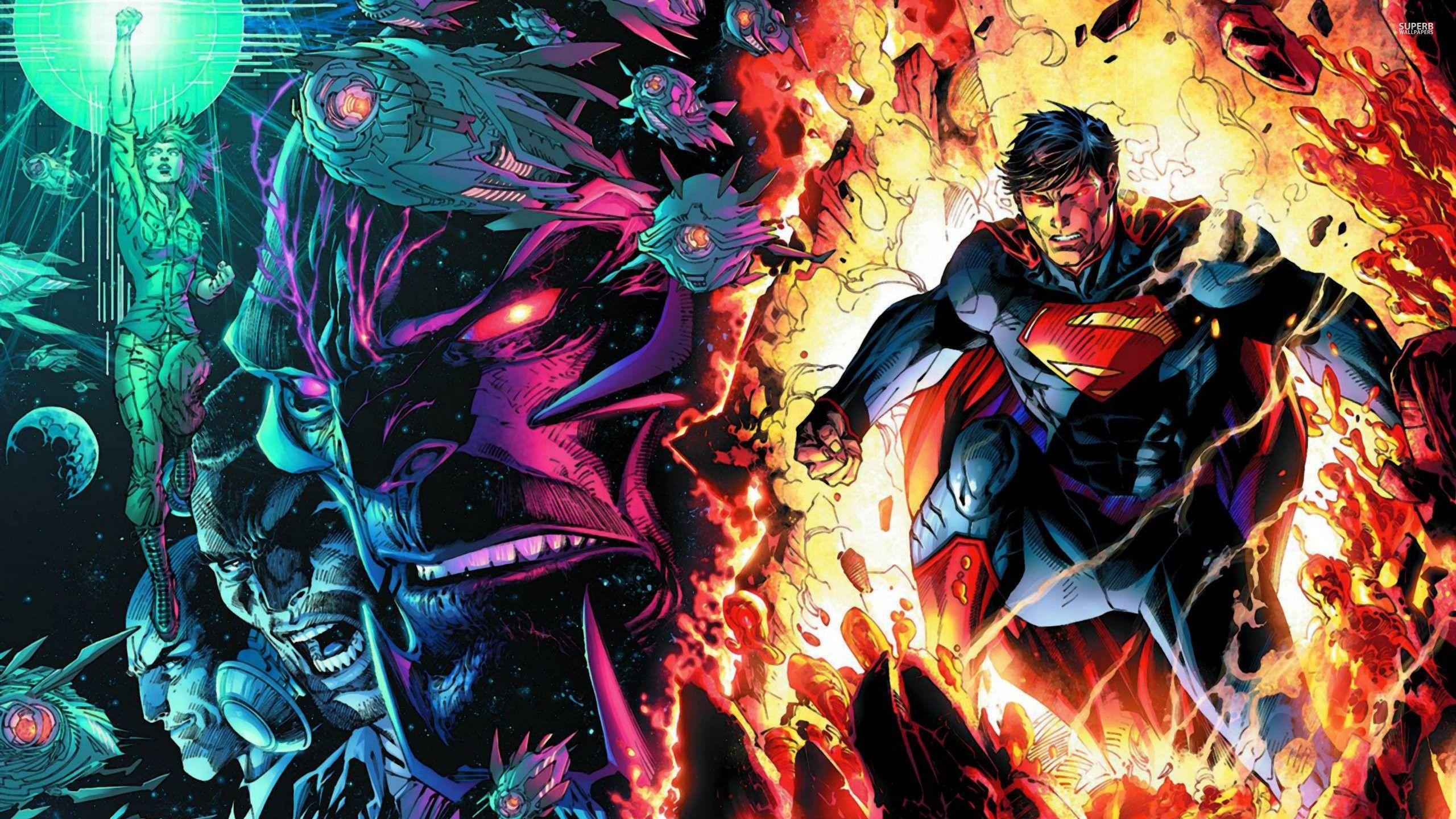 1239x864 DC Comics New 52 Wallpaper