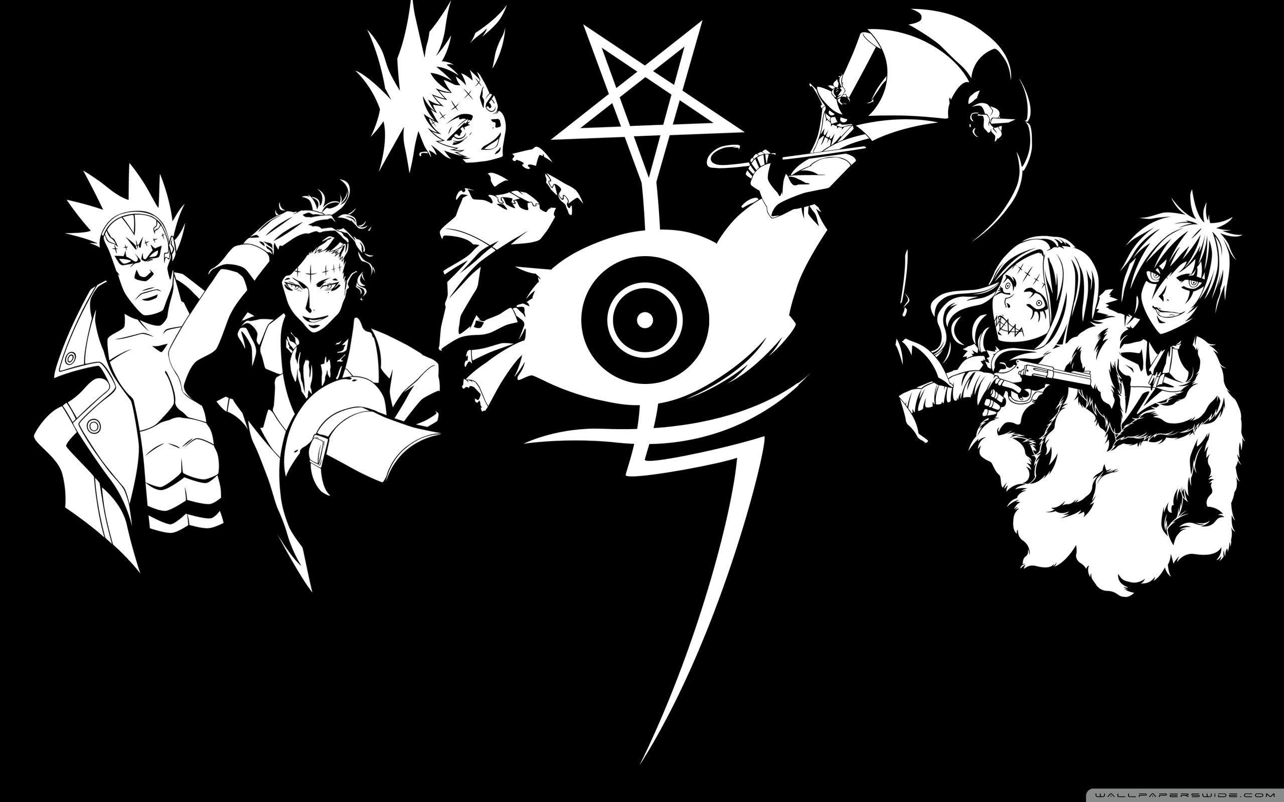 Black And White Manga Wallpapers Top Free Black And White
