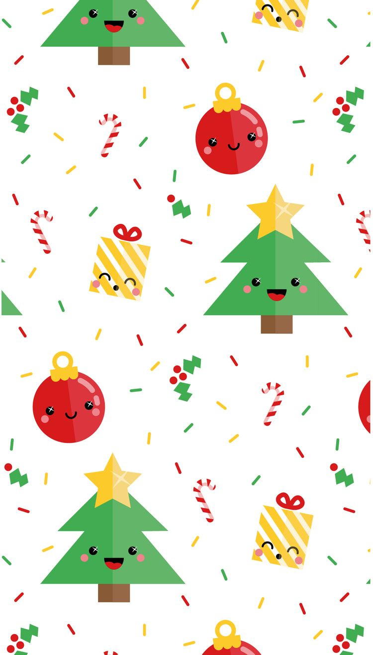 41 Best Free Kawaii Christmas Wallpapers - WallpaperAccess