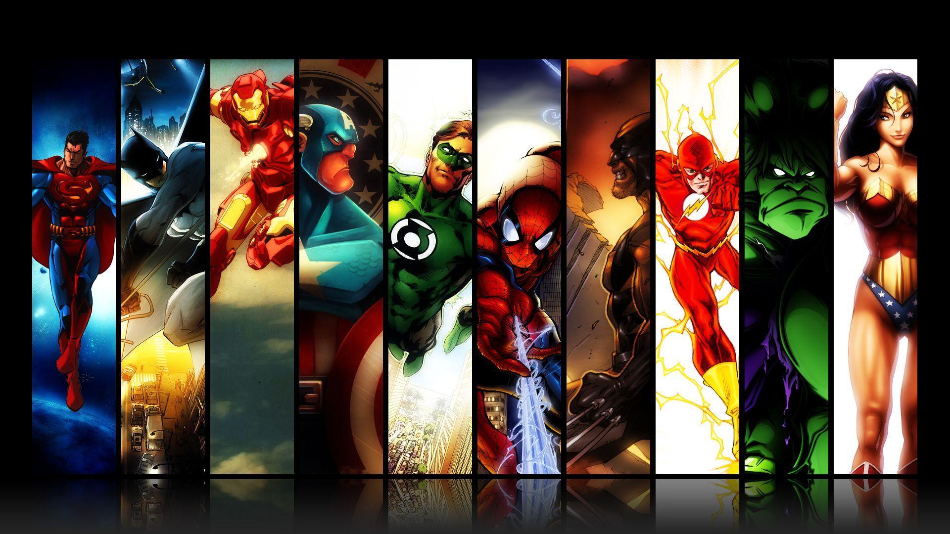 All Superhero Wallpapers Top Free All Superhero Backgrounds Wallpaperaccess