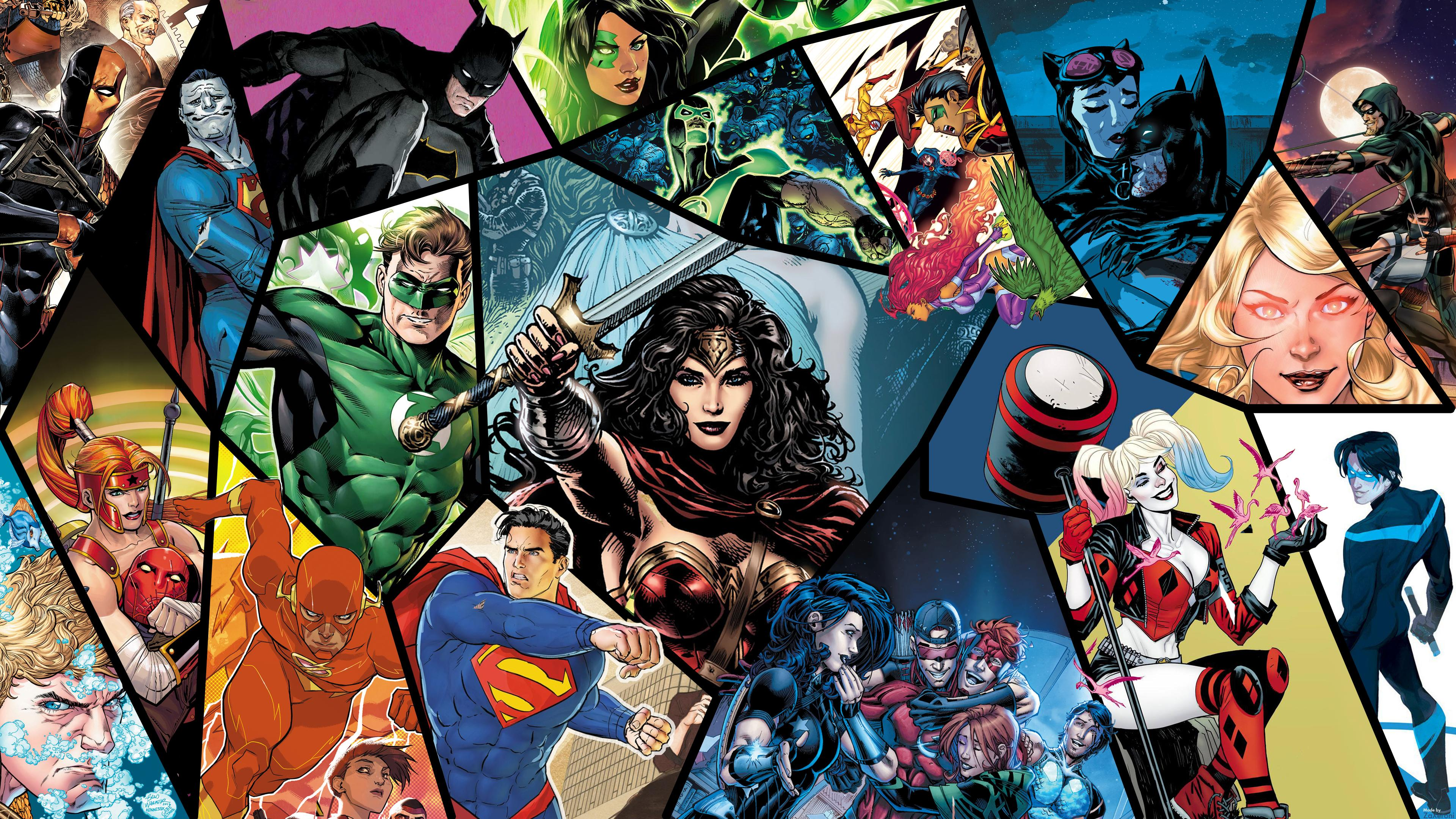 Dc wallpapers top free dc backgrounds wallpaperaccess - Dc characters wallpaper hd ...
