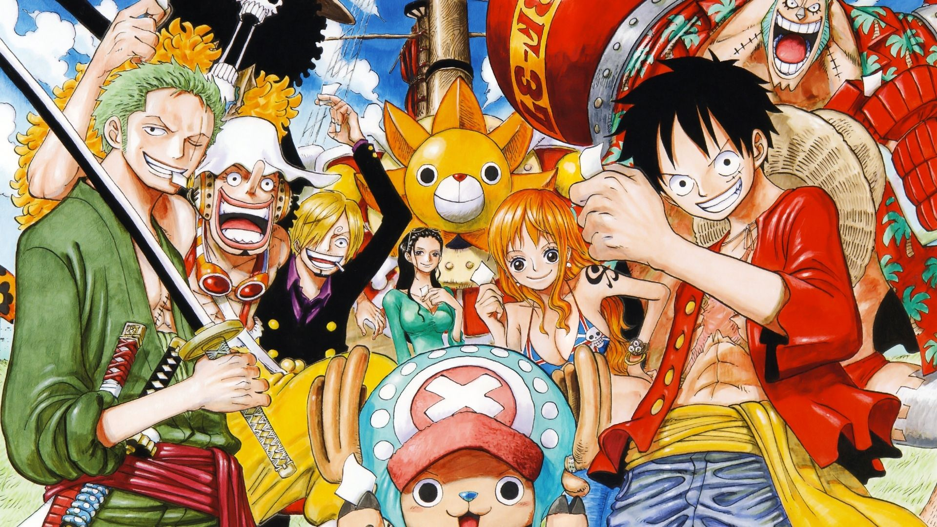 One Piece Anime Desktop Wallpapers Top Free One Piece