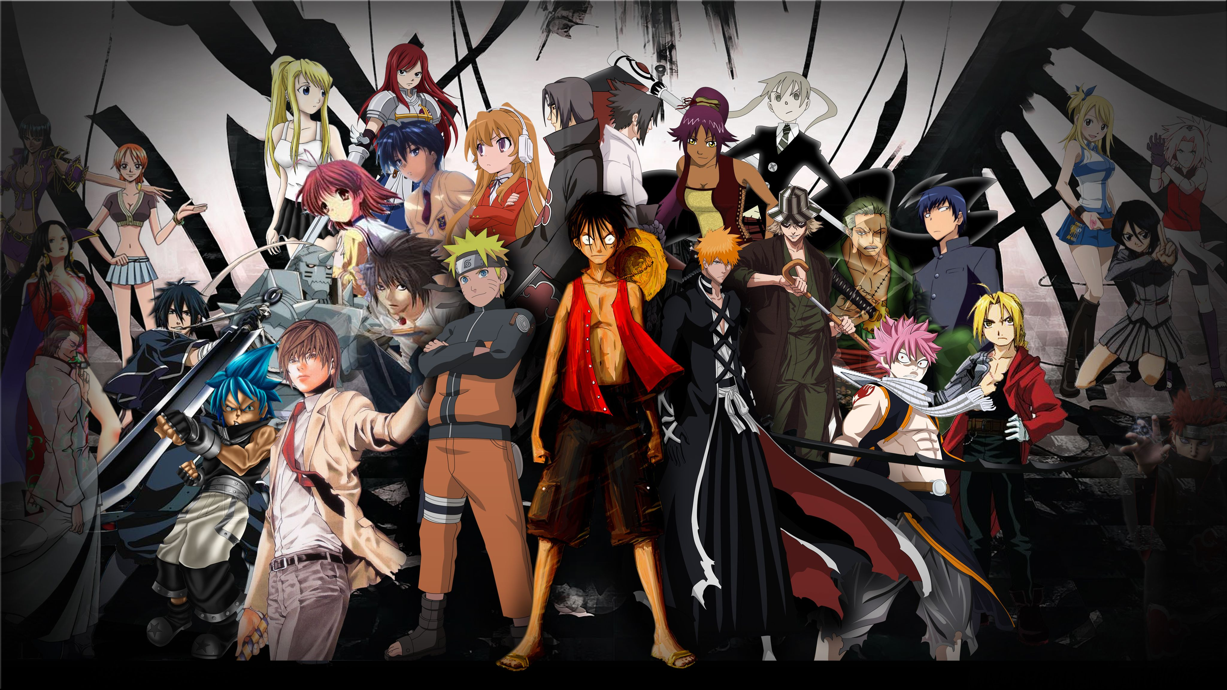 All Anime Heroes Wallpaper Hd