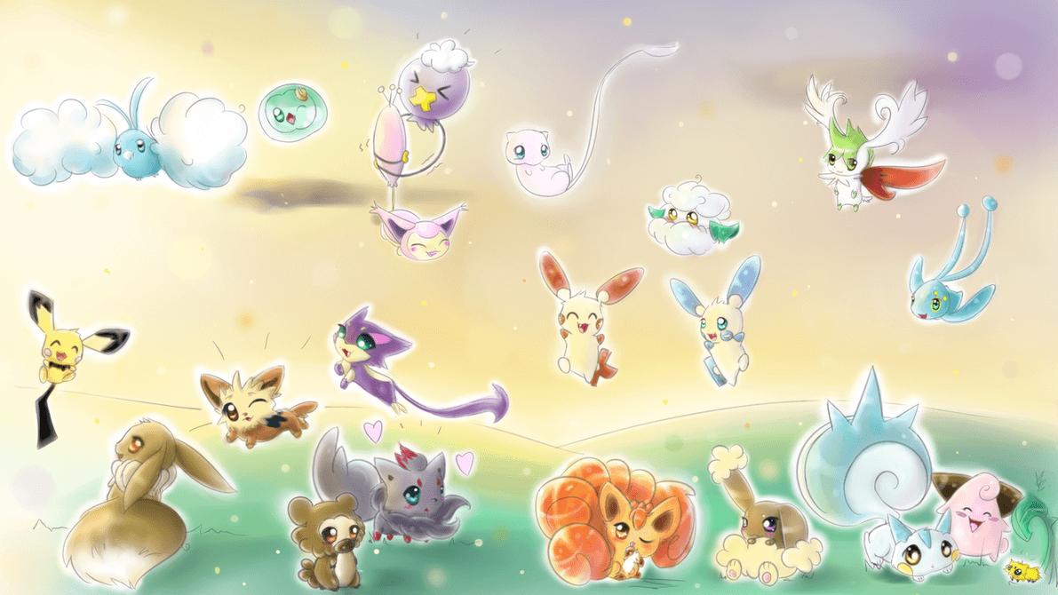 Cute Chibi Pokemon Wallpapers Top Free Cute Chibi Pokemon