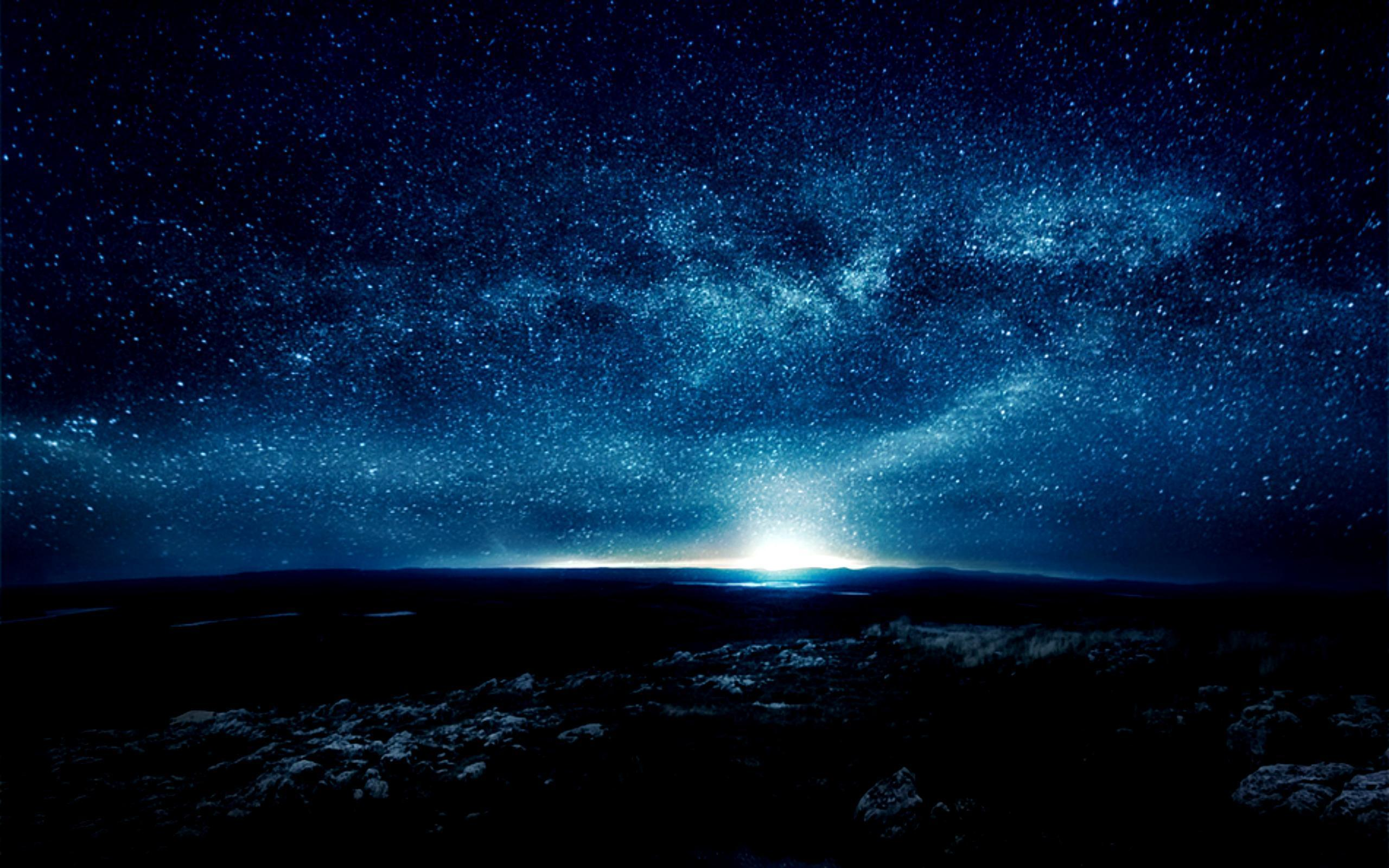 Night Sky Desktop Wallpapers Top Free Night Sky Desktop