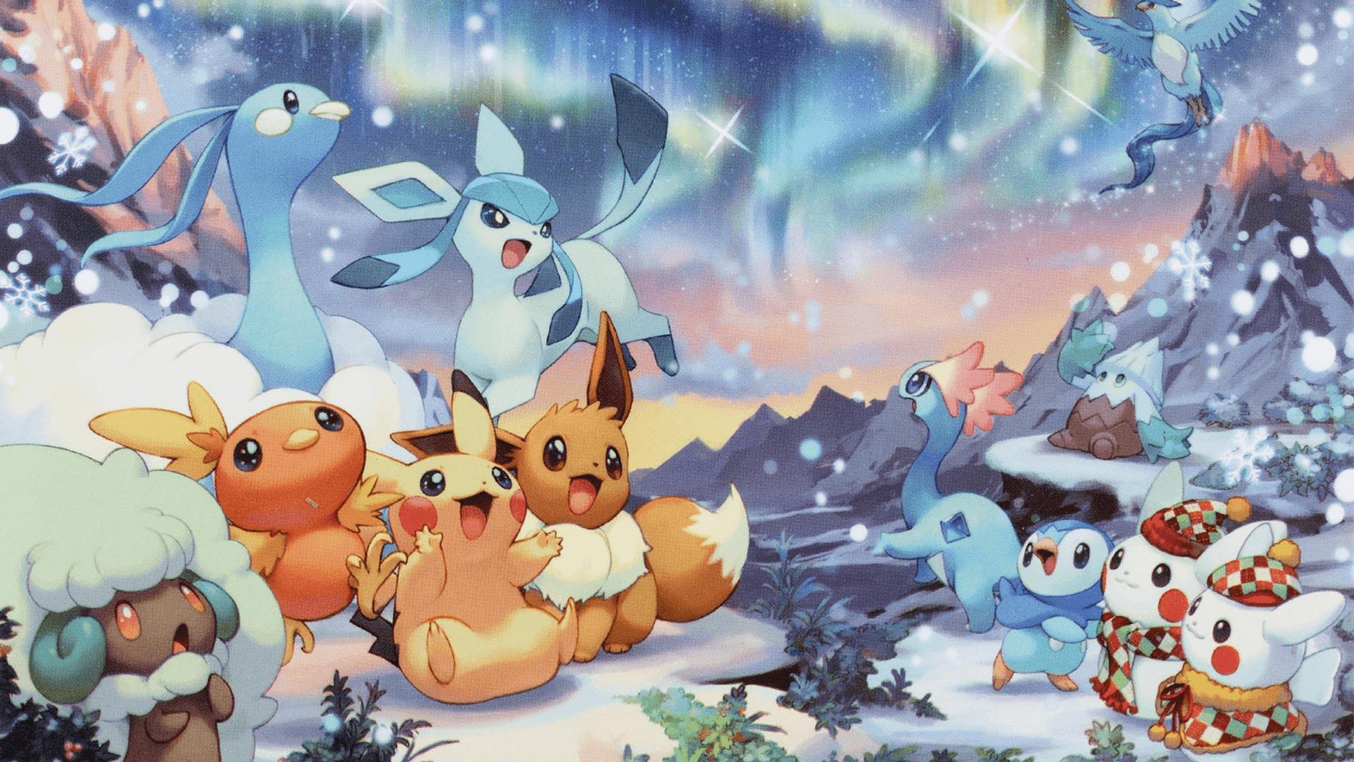 Pikachu And Eevee Wallpapers Top Free Pikachu And Eevee