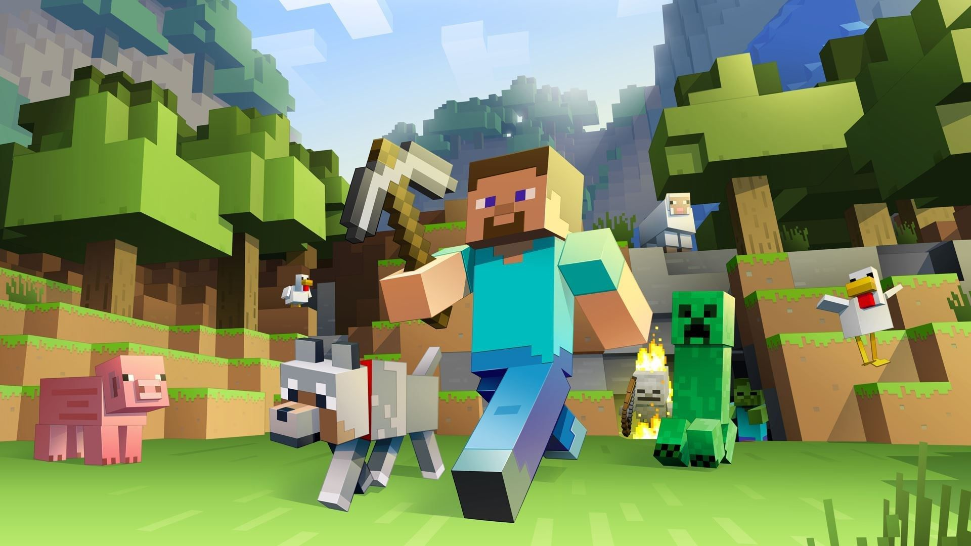Minecraft Steve Wallpapers Top Free Minecraft Steve Backgrounds Wallpaperaccess