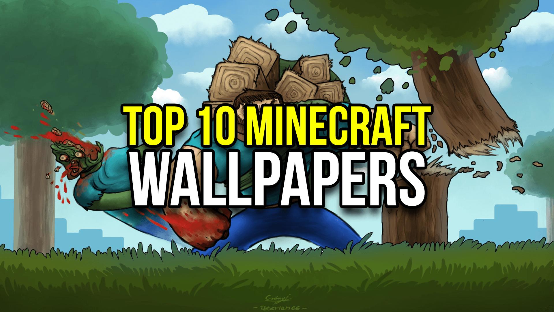 1920x1080 Top 10 Minecraft Wallpapers - MinecraftRocket