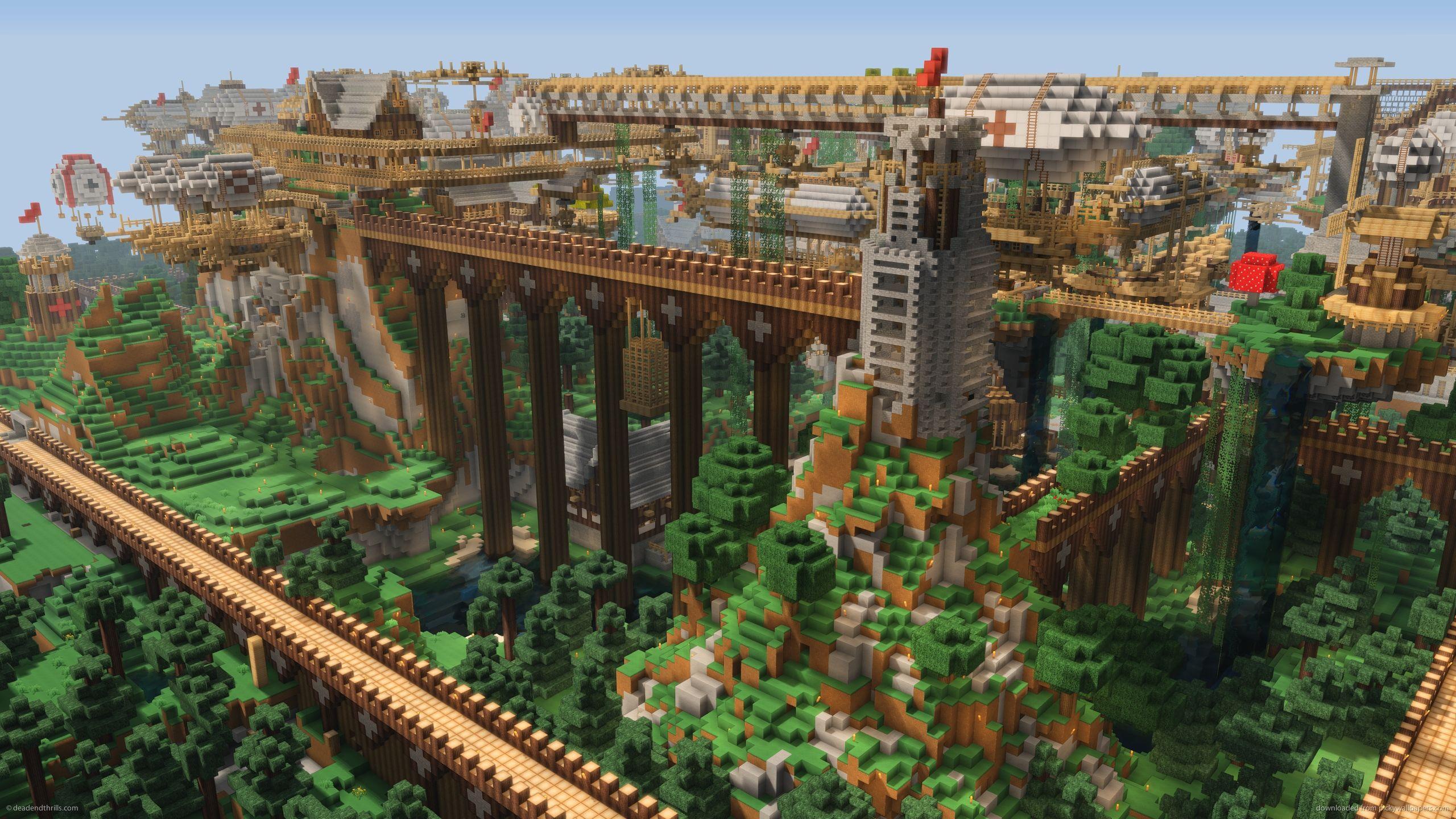 2560x1440 Minecraft Wallpaper 44D | Verdewall