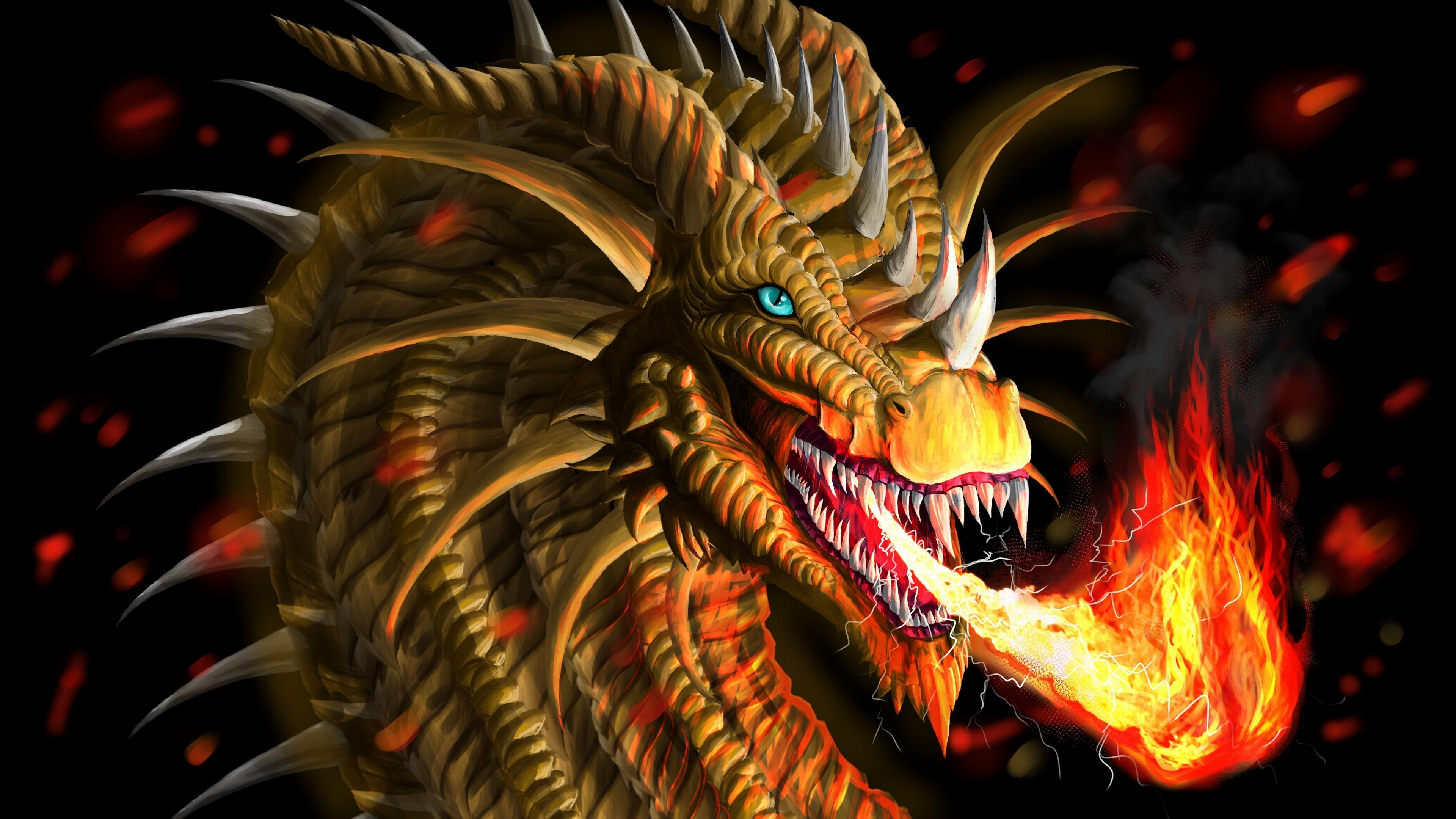 High Resolution Dragon Wallpapers Top Free High Resolution Dragon Backgrounds Wallpaperaccess