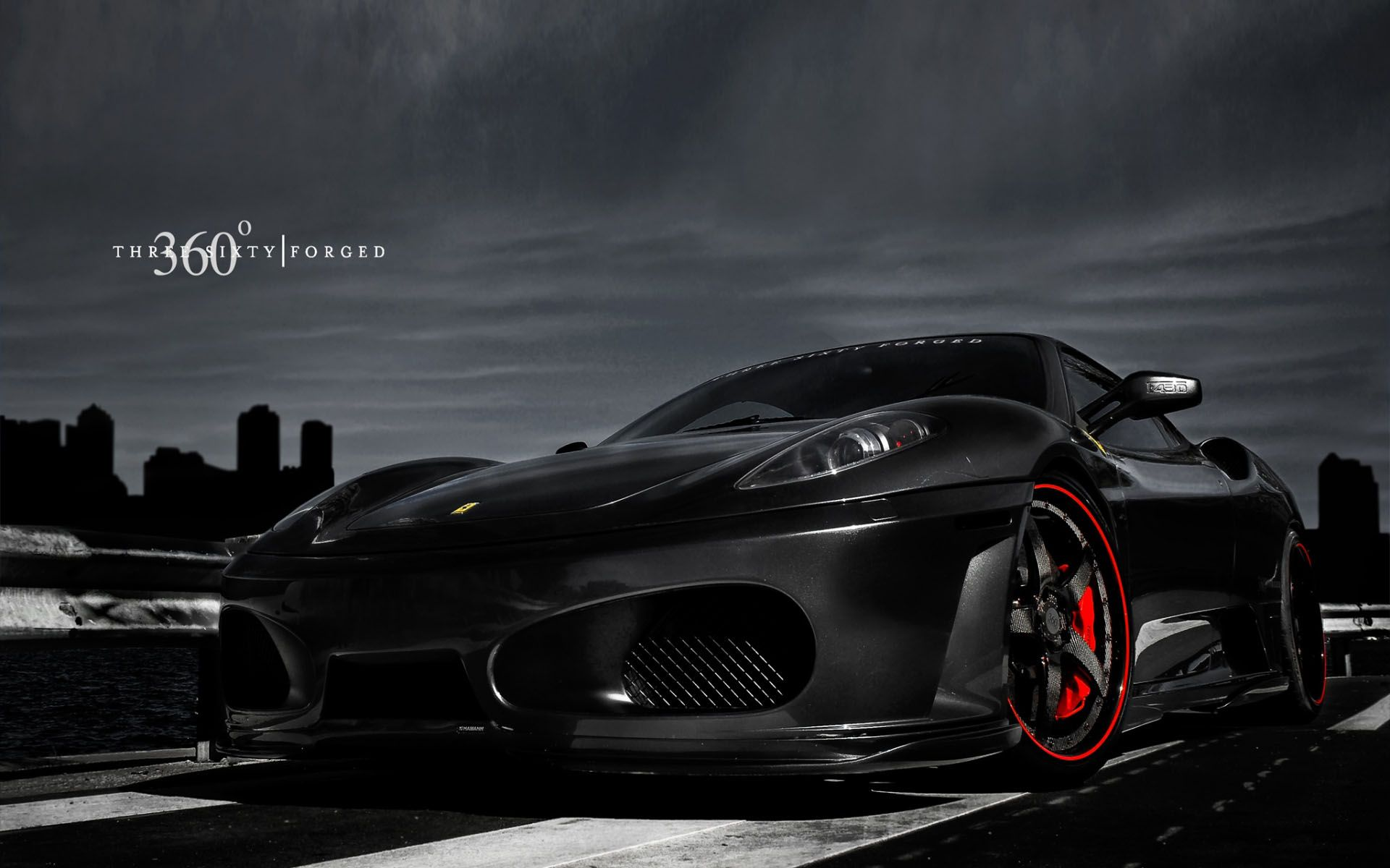 Black Sports Cars Wallpapers