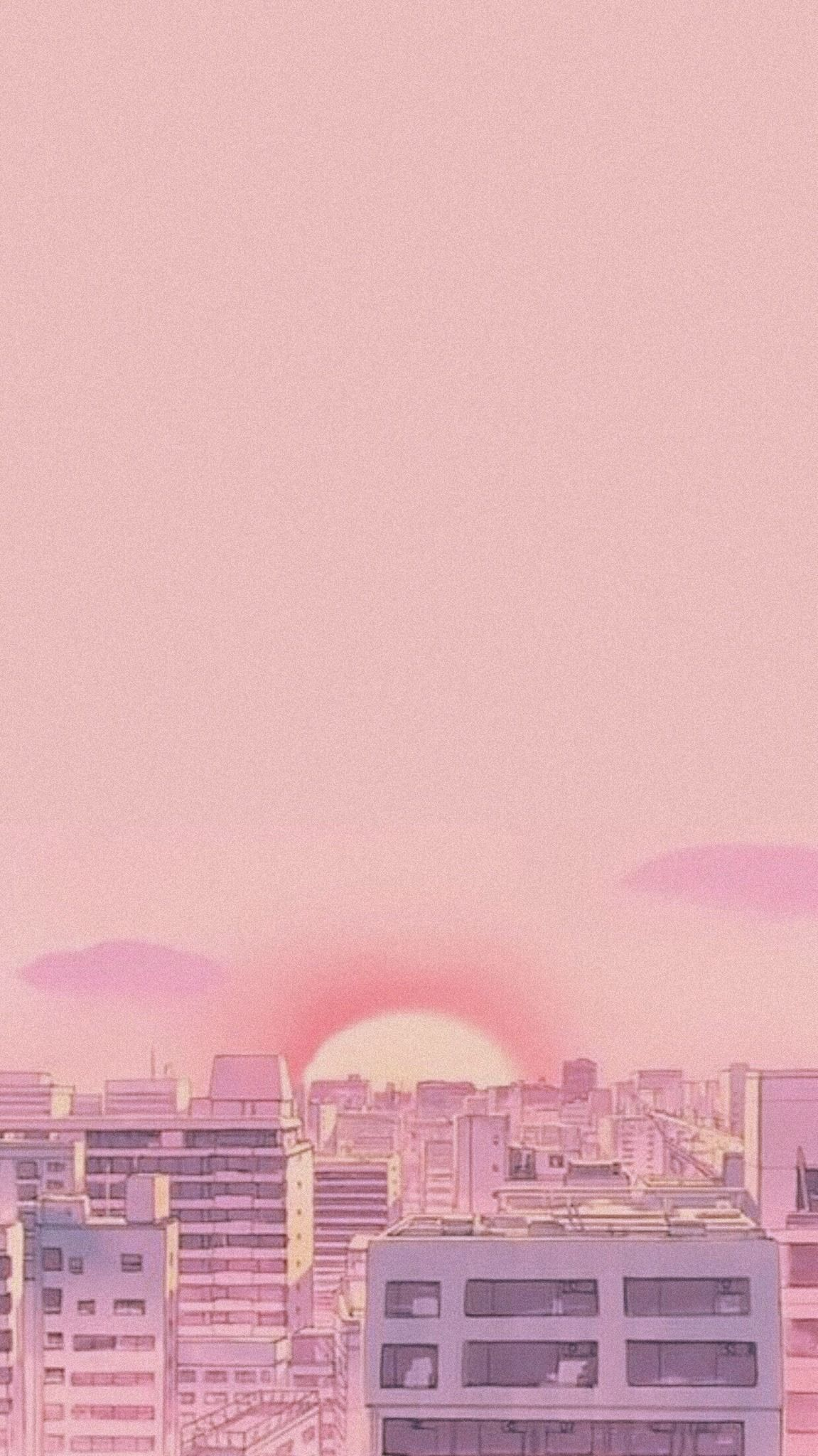 Pink Aesthetic 90s Anime Wallpapers Top Free Pink Aesthetic 90s Anime Backgrounds Wallpaperaccess