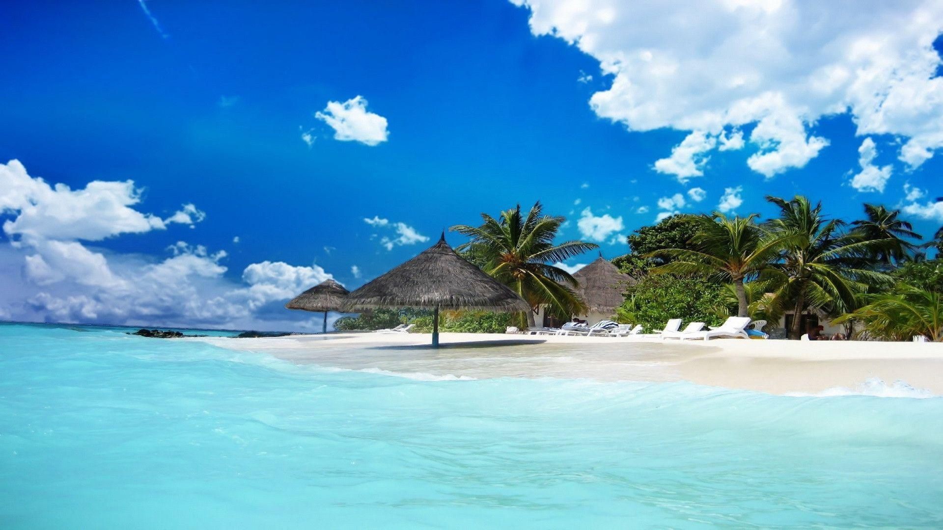 Jamaica Beach Desktop Wallpapers