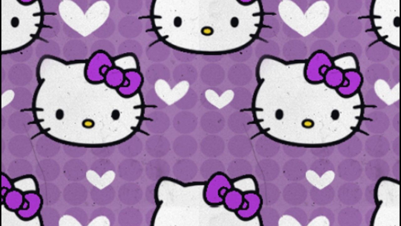 Hello Kitty Purple Wallpapers Top Free Hello Kitty Purple