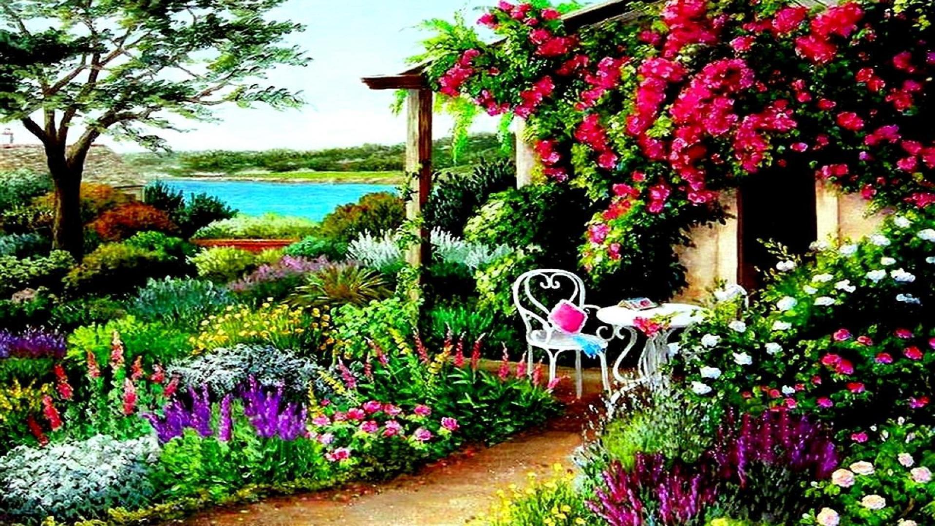 46 Best Free Garden Desktop Wallpapers Wallpaperaccess