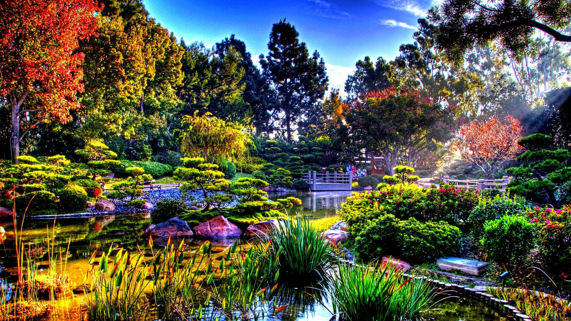 Garden Desktop Wallpapers